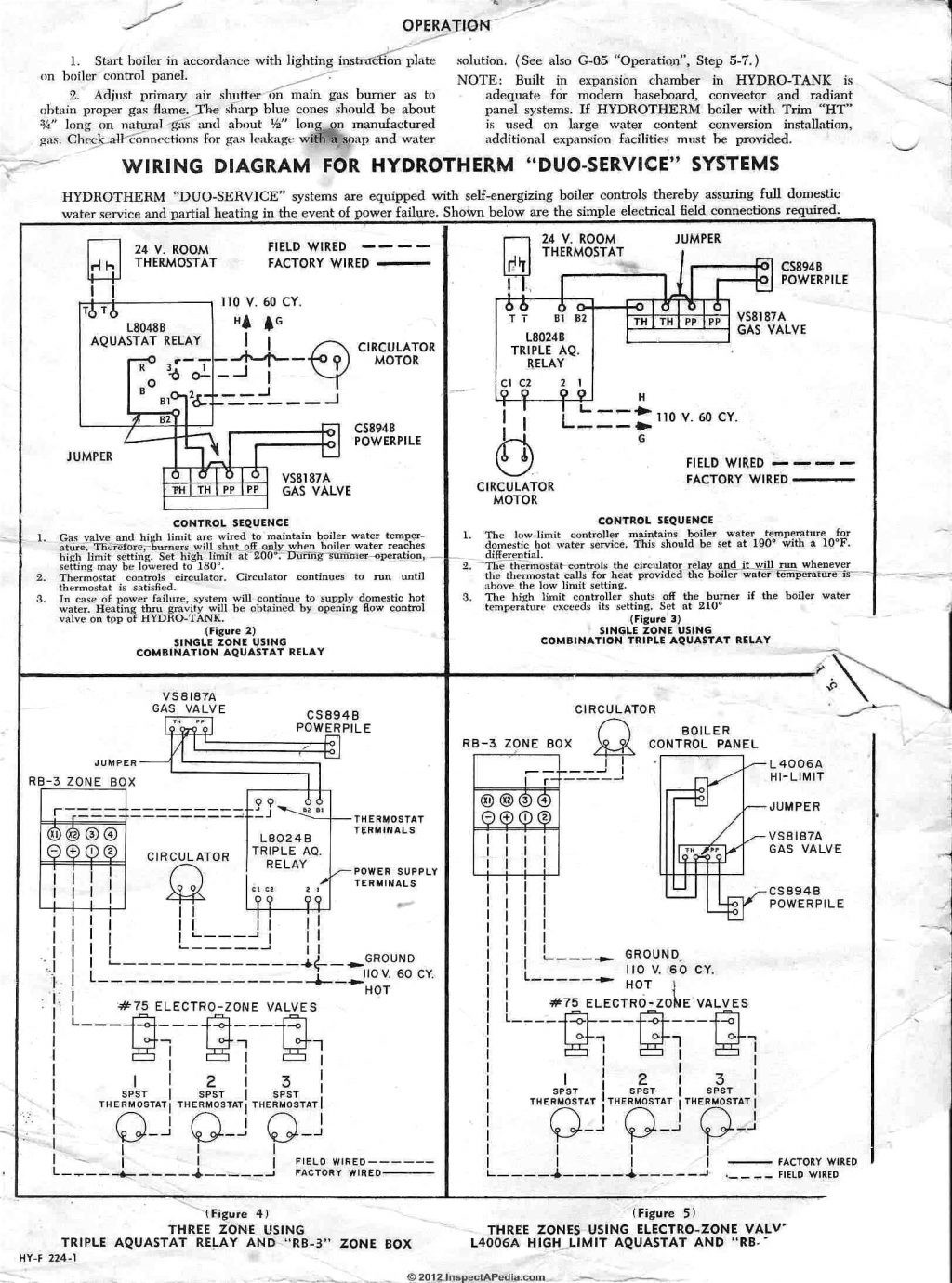 Honeywell Switching Relay Wiring Diagram Library Dt90e Instructions R845a Aquastat Schematics Diagrams U2022