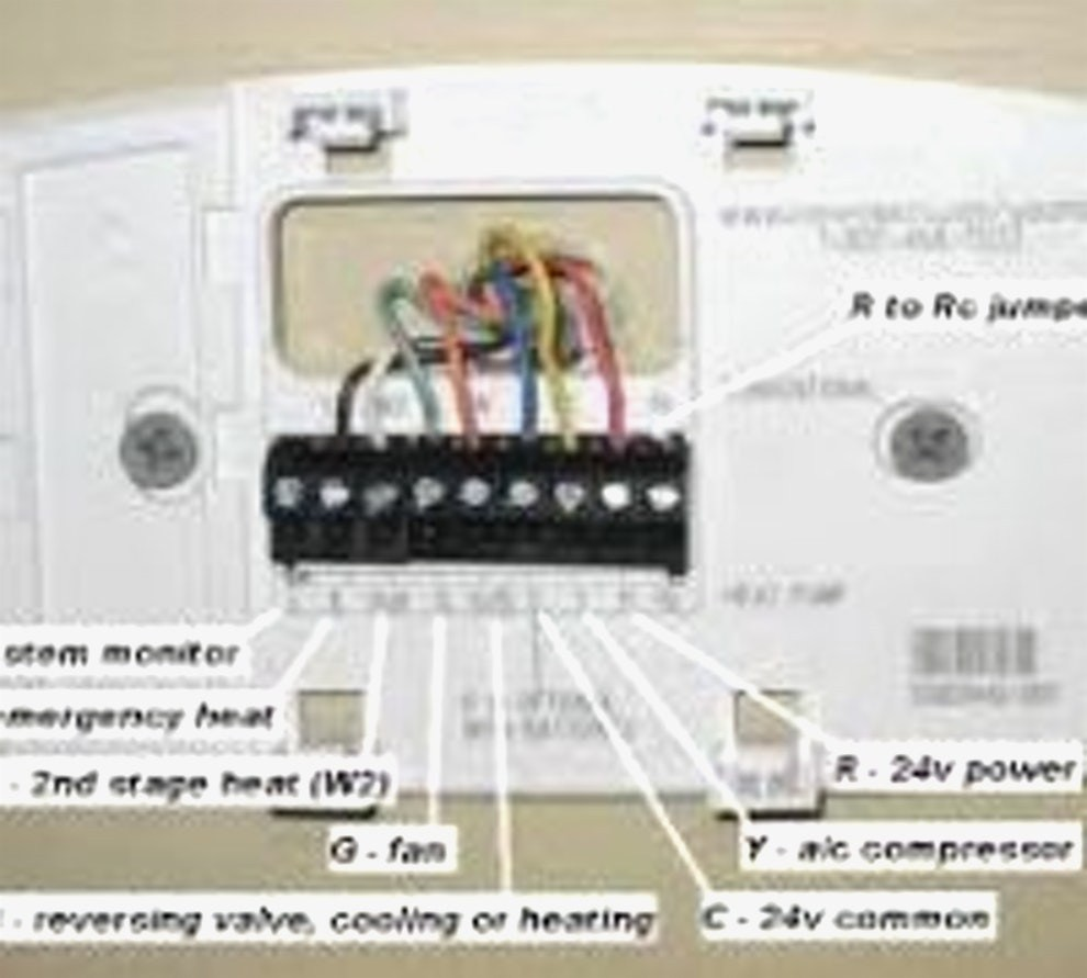 Honeywell Thermostat Installation Diagram Indepth Wiring Diagrams Rth2510b Th3110d1008 Model Library Of Rh Sv Ti Com Connection