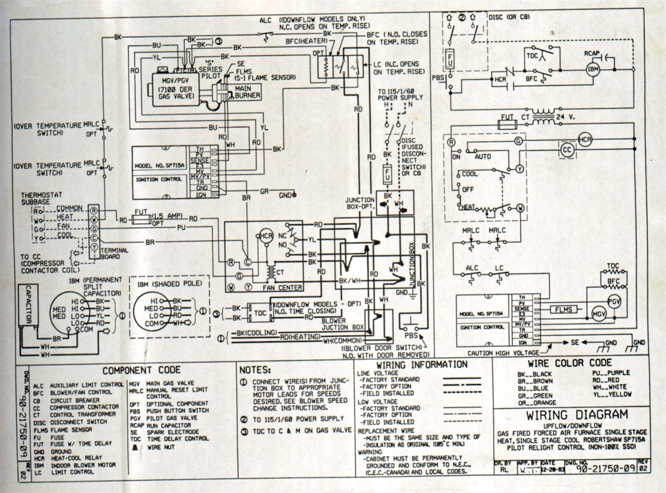Wiring Diagram for Ac to Furnace Inspirationa Payne Electric Furnace Wiring Diagram Inspirationa Payne Air Handler