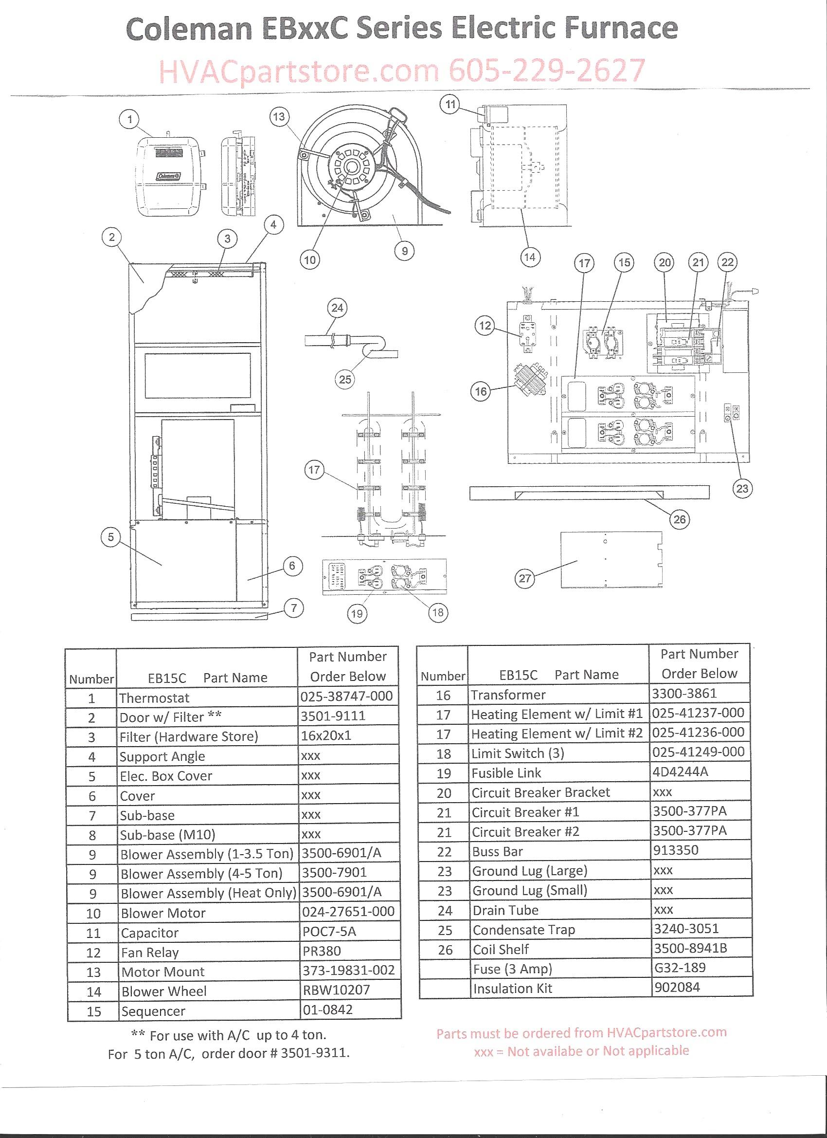 Intertherm Electric Furnace Wiring Diagram