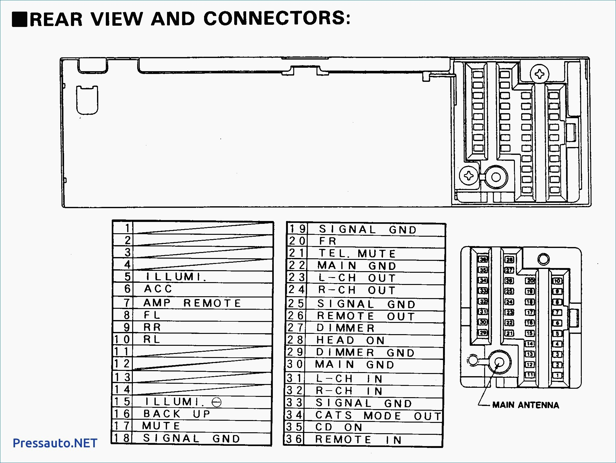 Wiring Diagram for Amplifier Car Stereo New Amplifier Wiring Diagram Inspirational Car Stereo Wiring Diagrams 0d