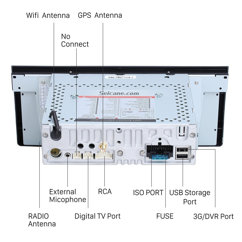 Car Stereo System Diagram