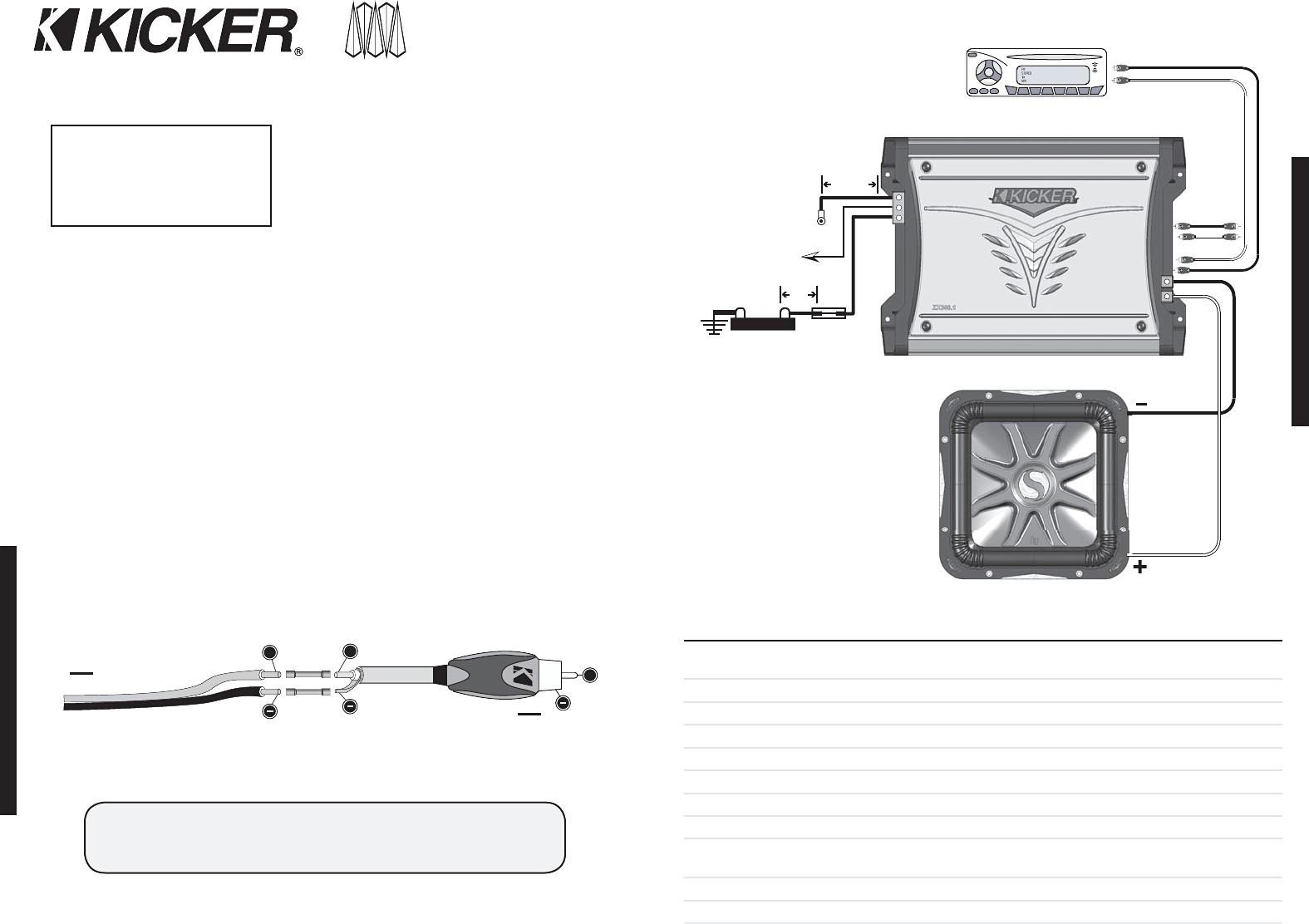 kicker comp 12 wiring diagram - Wiring Diagram