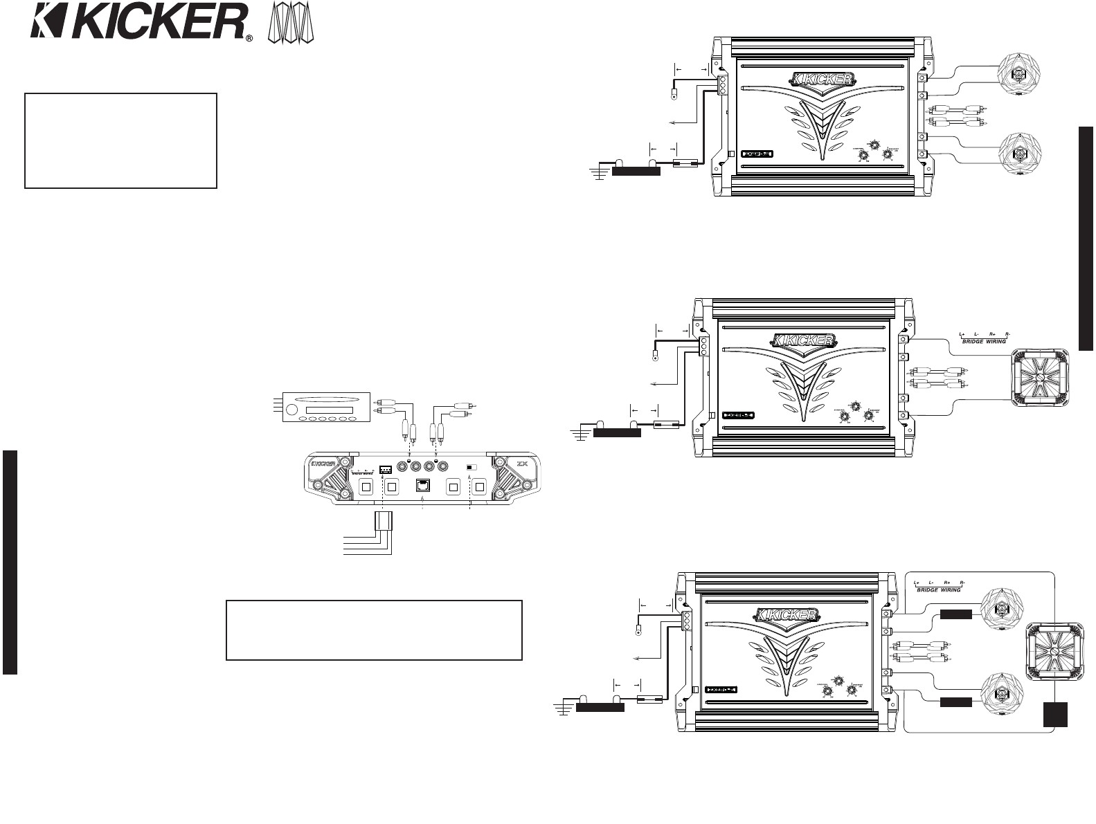 Kicker Wiring Diagram 2 Ohm Trusted Dual Voice Coil Options Cvt Wire Data Schema U2022 4