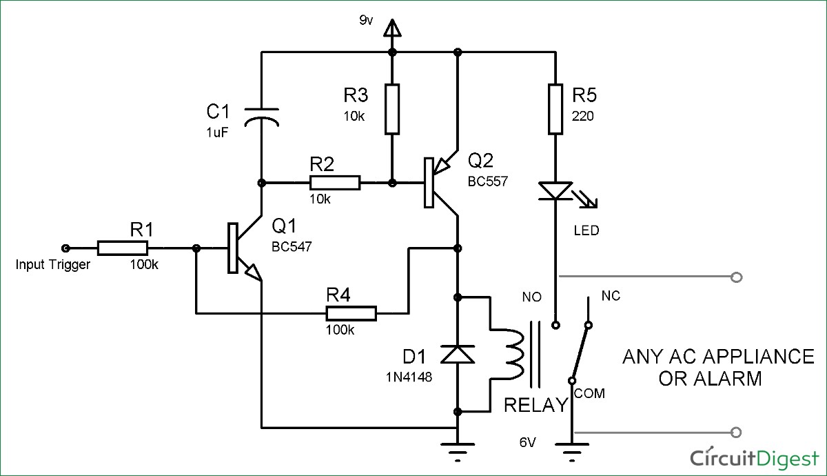 Dayton Latching Relay Wiring Diagram