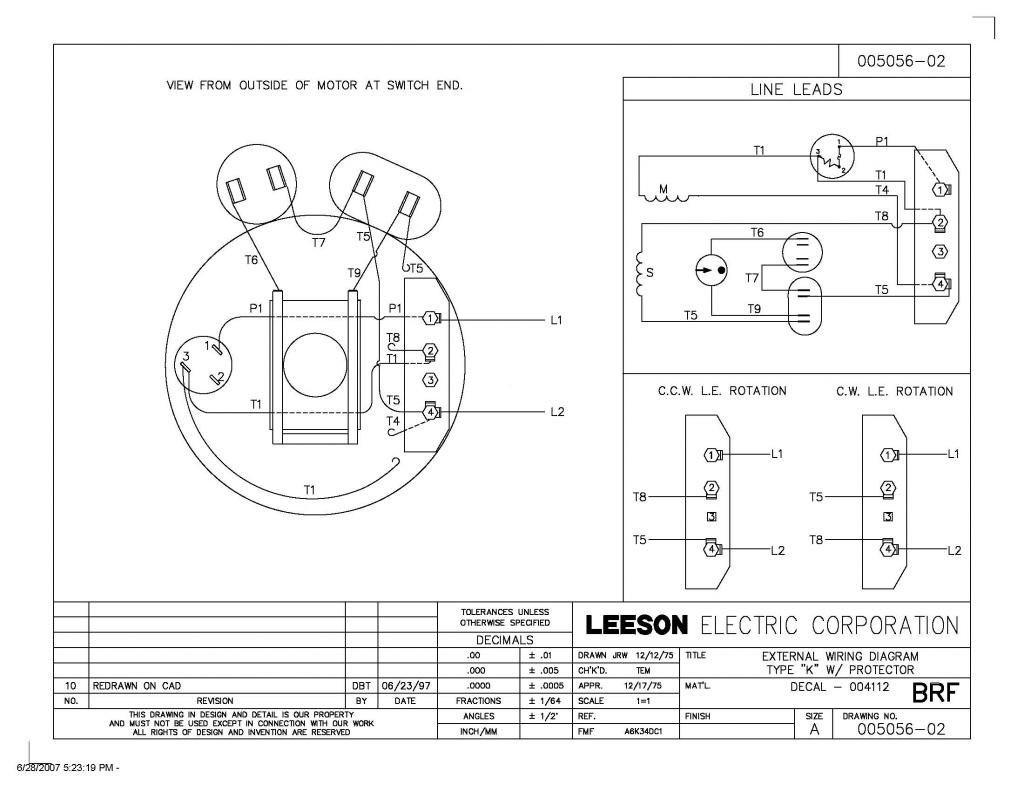 motor wiring diagrams on century 5 hp electric motor wiring diagram rh fantazer pw Gould Electric