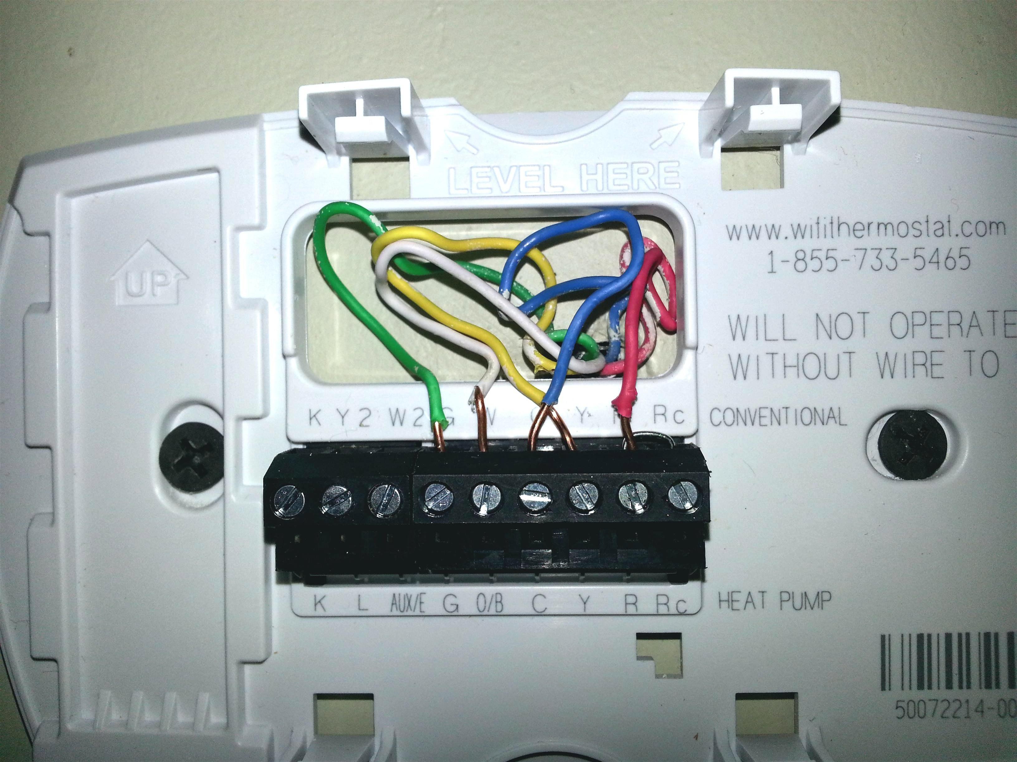 Lux 1500 Thermostat Wiring Diagram | Wiring Liry  Wire Thermostat Wiring Diagram Emerson on