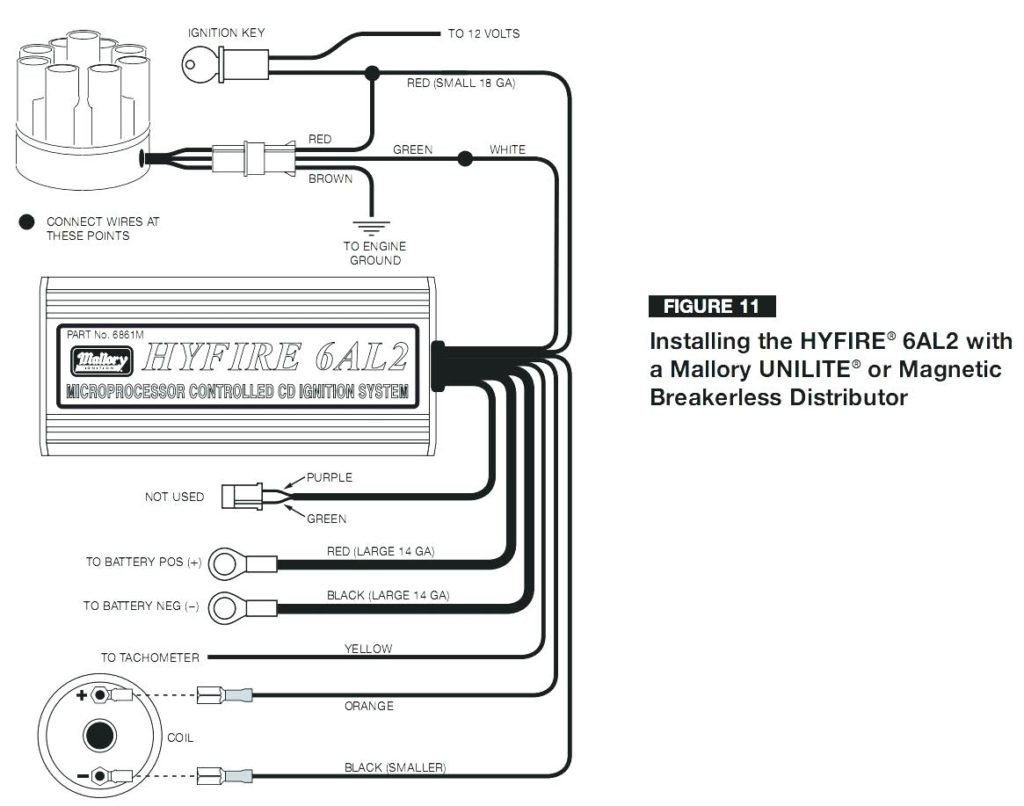 Best Of Mallory Magnetic Breakerless Distributor Wiring ... Mallory Magnetic Breakerless Distributor Wiring Diagram on mallory marine distributor parts guide, mallory distributor identification, mallory magnetic distributor installation,