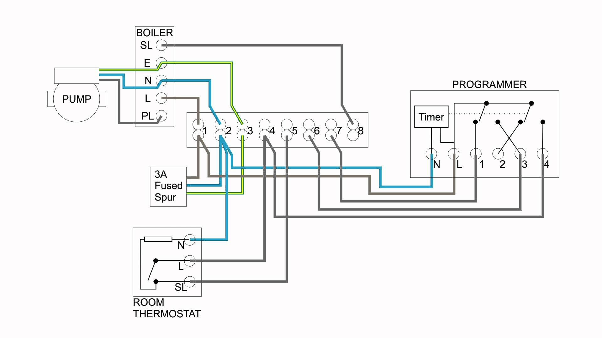 central boiler thermostat wiring diagram Download Hive Thermostat Wiring Diagram New Central Heating Electrical Wiring