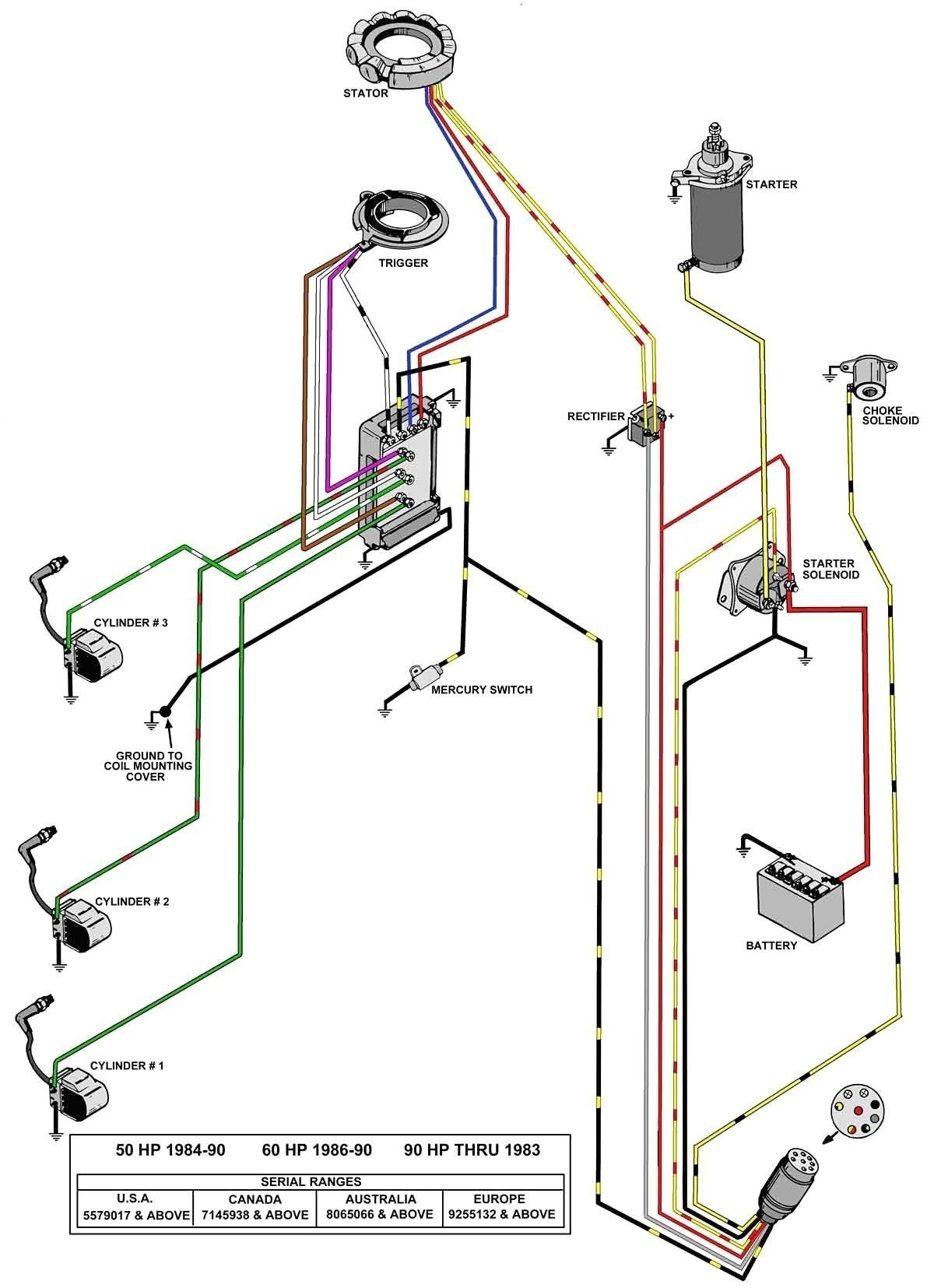 Wiring Diagram for Ignition Switch Mercury Outboard Fresh Wiring Diagram for Outboard Ignition Switch Refrence