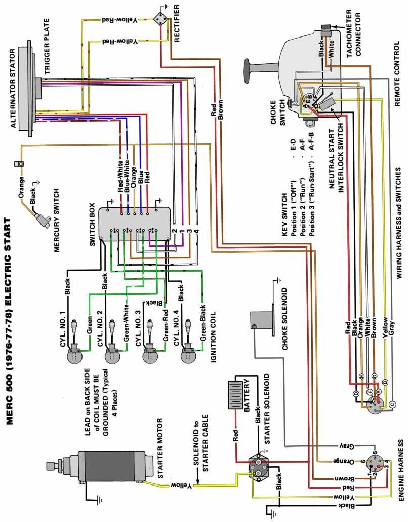 Car Quicksilver Outboard Controls Wiring Diagram Mercury Outboard Mercury Outboard 40 Hp 2 Stroke Od
