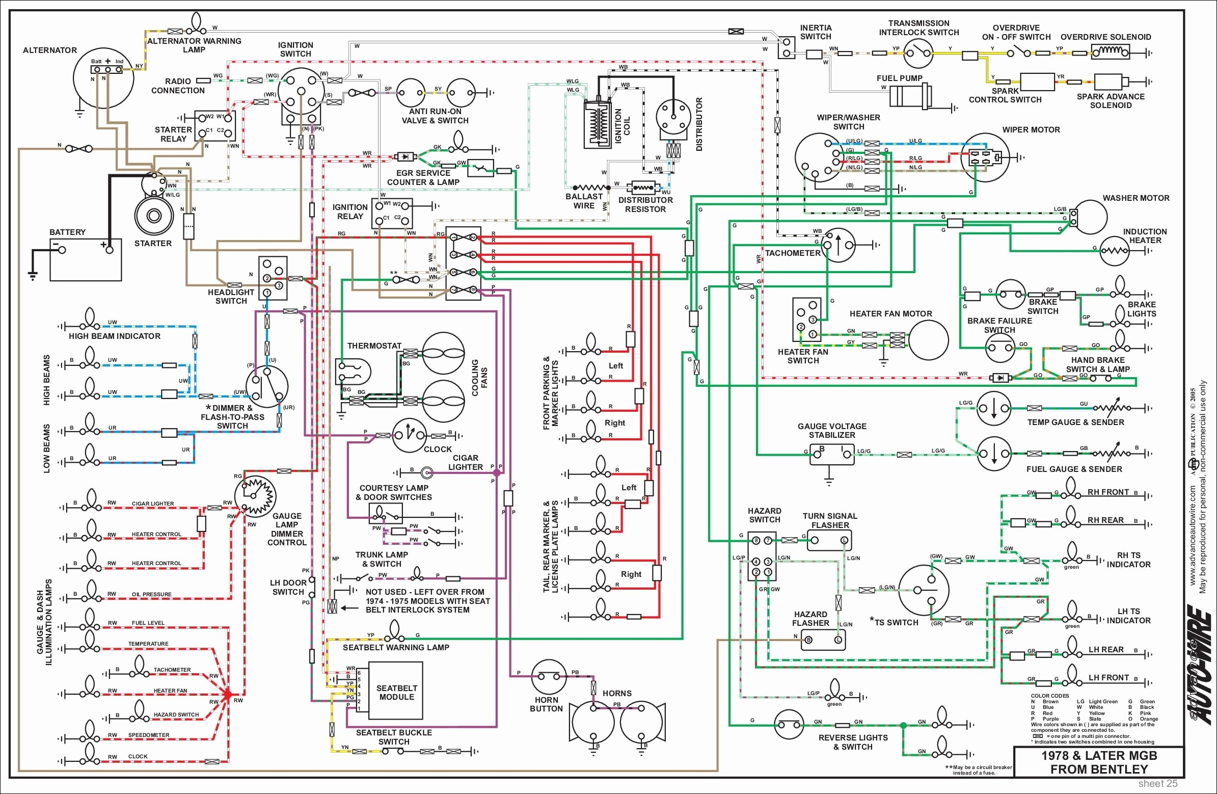mgb wiring diagram wiring diagram image 12v coil wiring distributor wiring  diagram beautiful 1976 mgb wiring