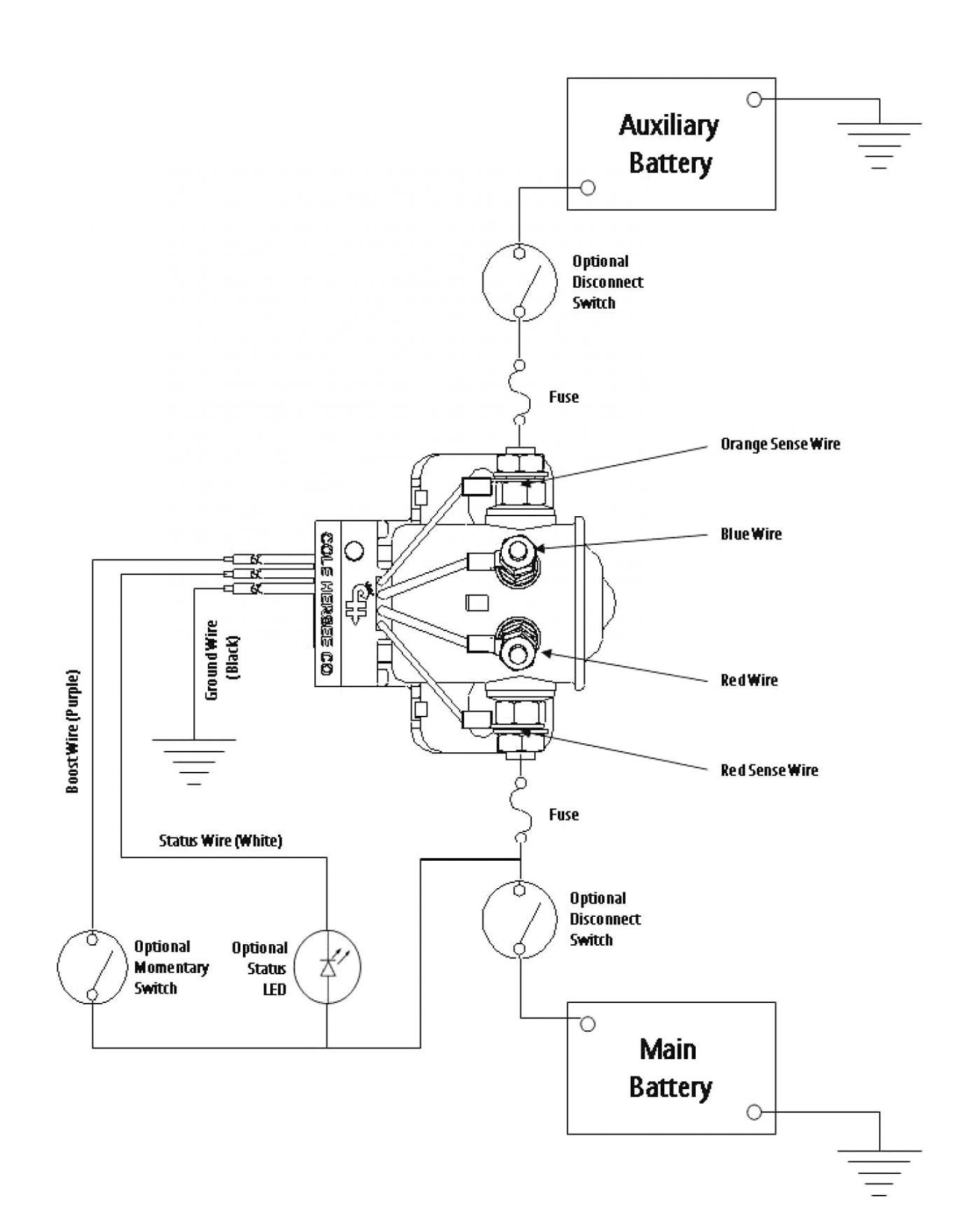 Dual Battery Wiring Diagram Relay Save Rv Battery Disconnect Switch