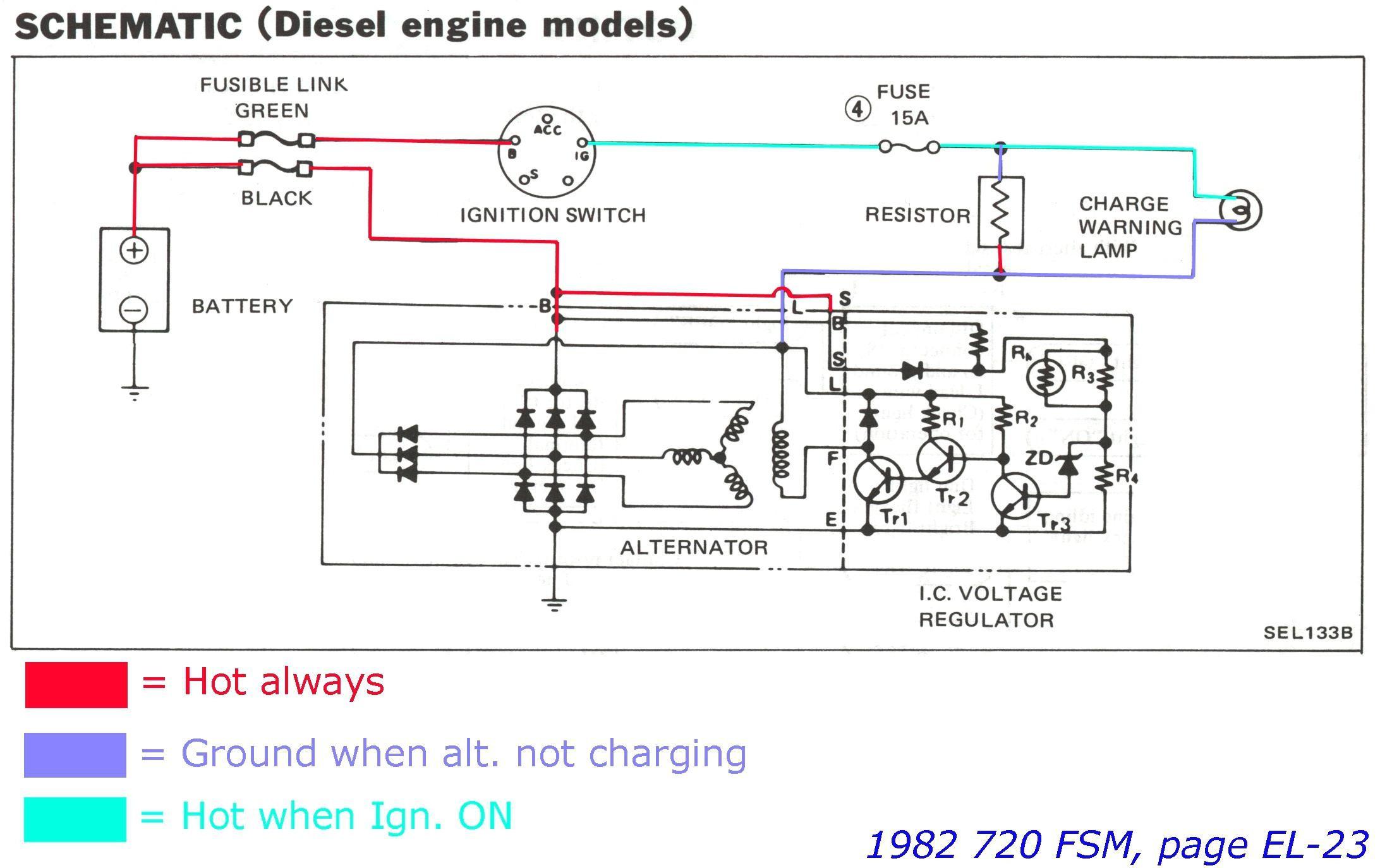Alternator Wiring Diagram W Terminal Copy ford 2 Wire Alternator Wiring Diagram Crown Diagrams e 4