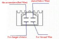 Motorcycle Rectifier Wiring Diagram Unique New Motorbike Voltage Regulator Rectifier 12v 4pin Fit for Buggie