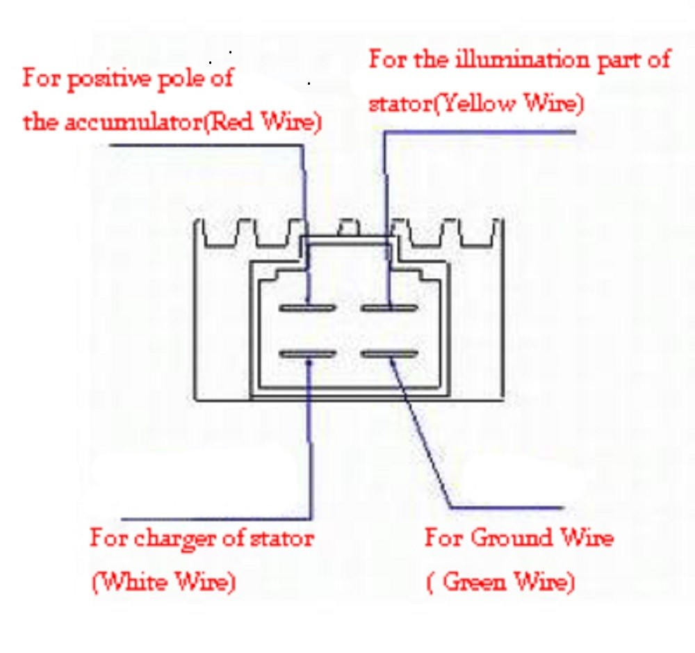 Wiring Diagram Bridge Rectifier H For A 4 Wire Ac Ups Circuit Motorcycle Image Rh Mainetreasurechest Com Schematic