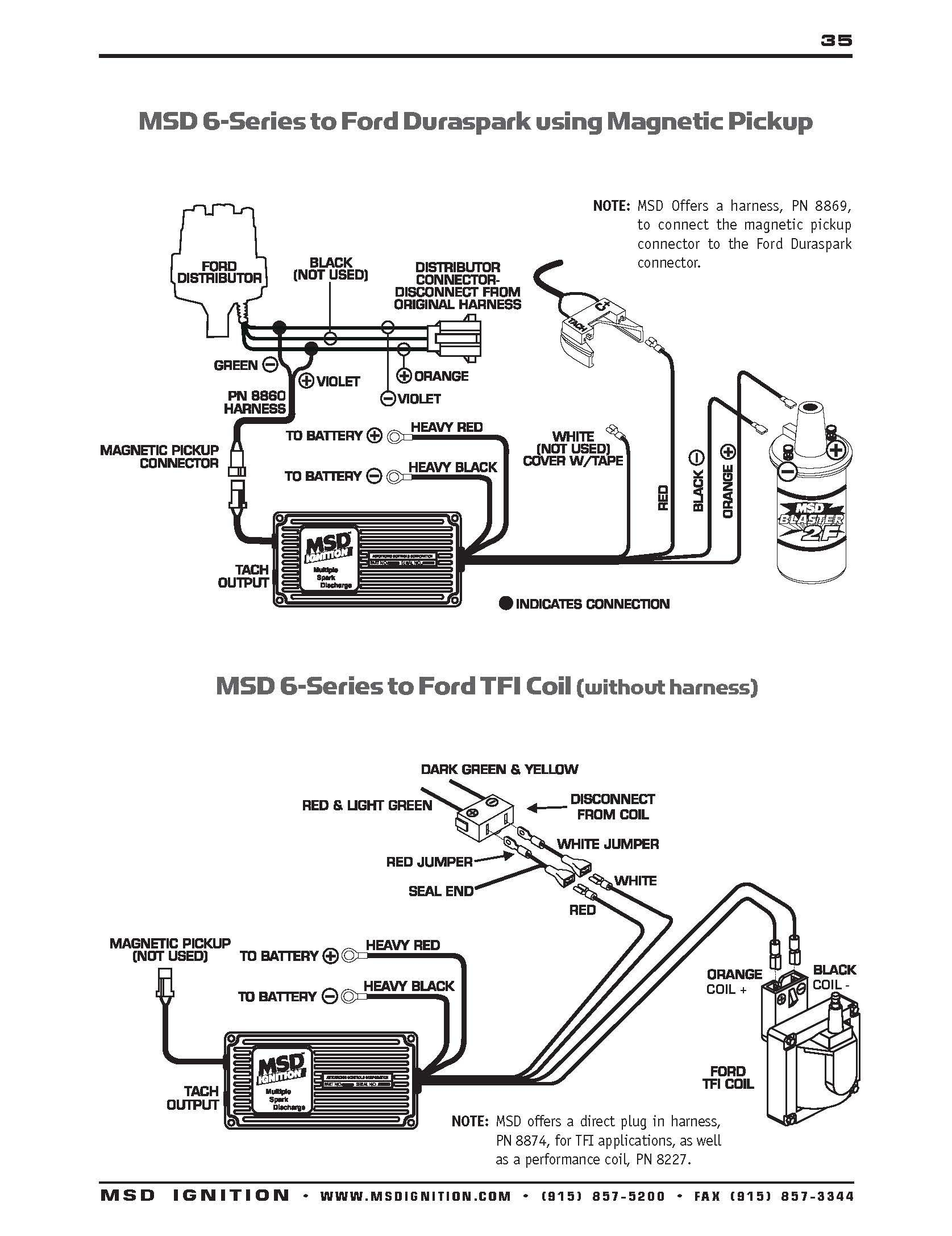 Msd 6al Wiring Diagram Awesome Points Wdtn Noticeable