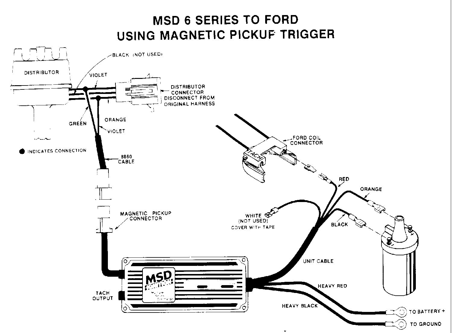 Msd 6al Wiring Ford Inline 6 Data Extraordinary Diagram
