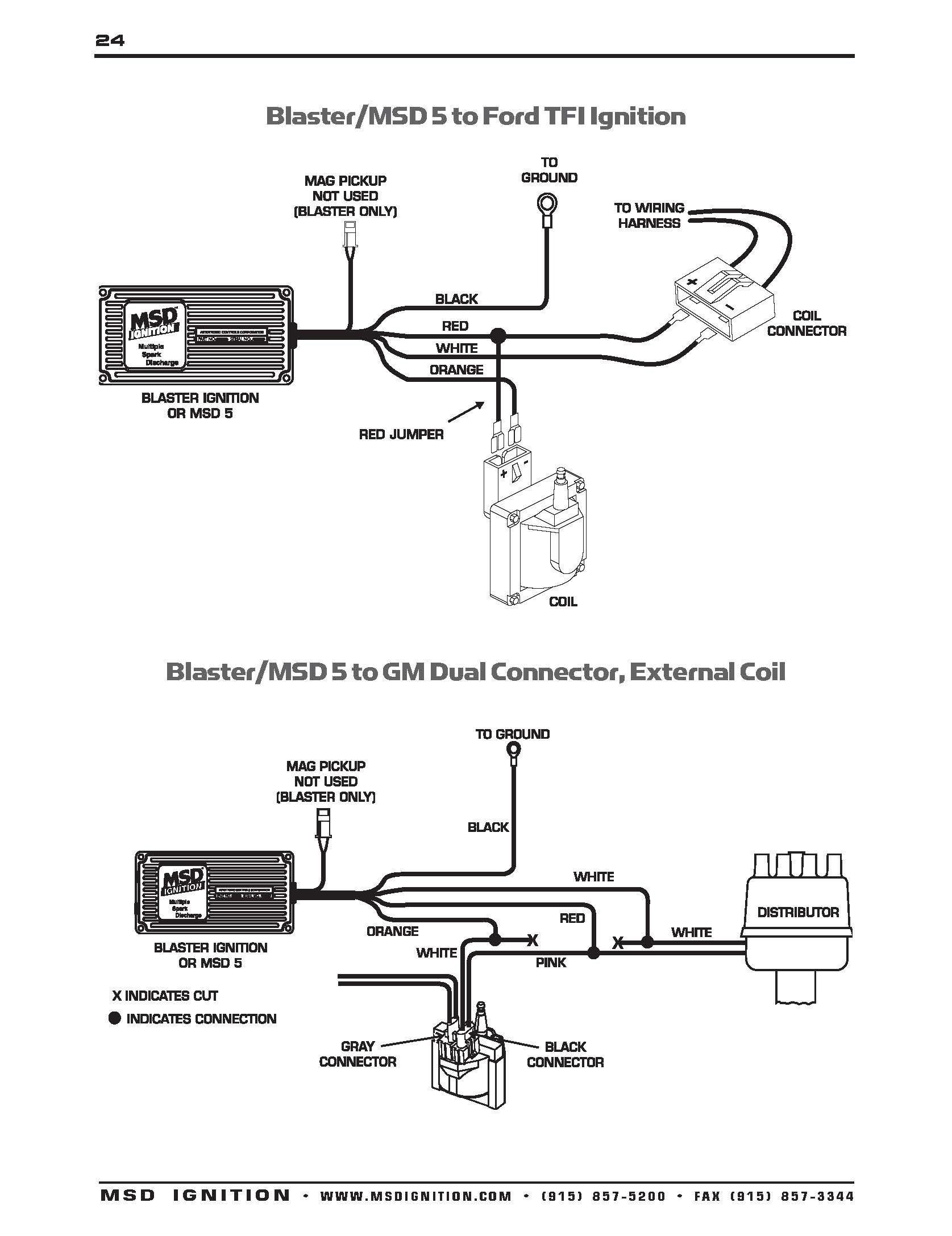Msd 6a 6200 Wiring Diagram WIRE Center •