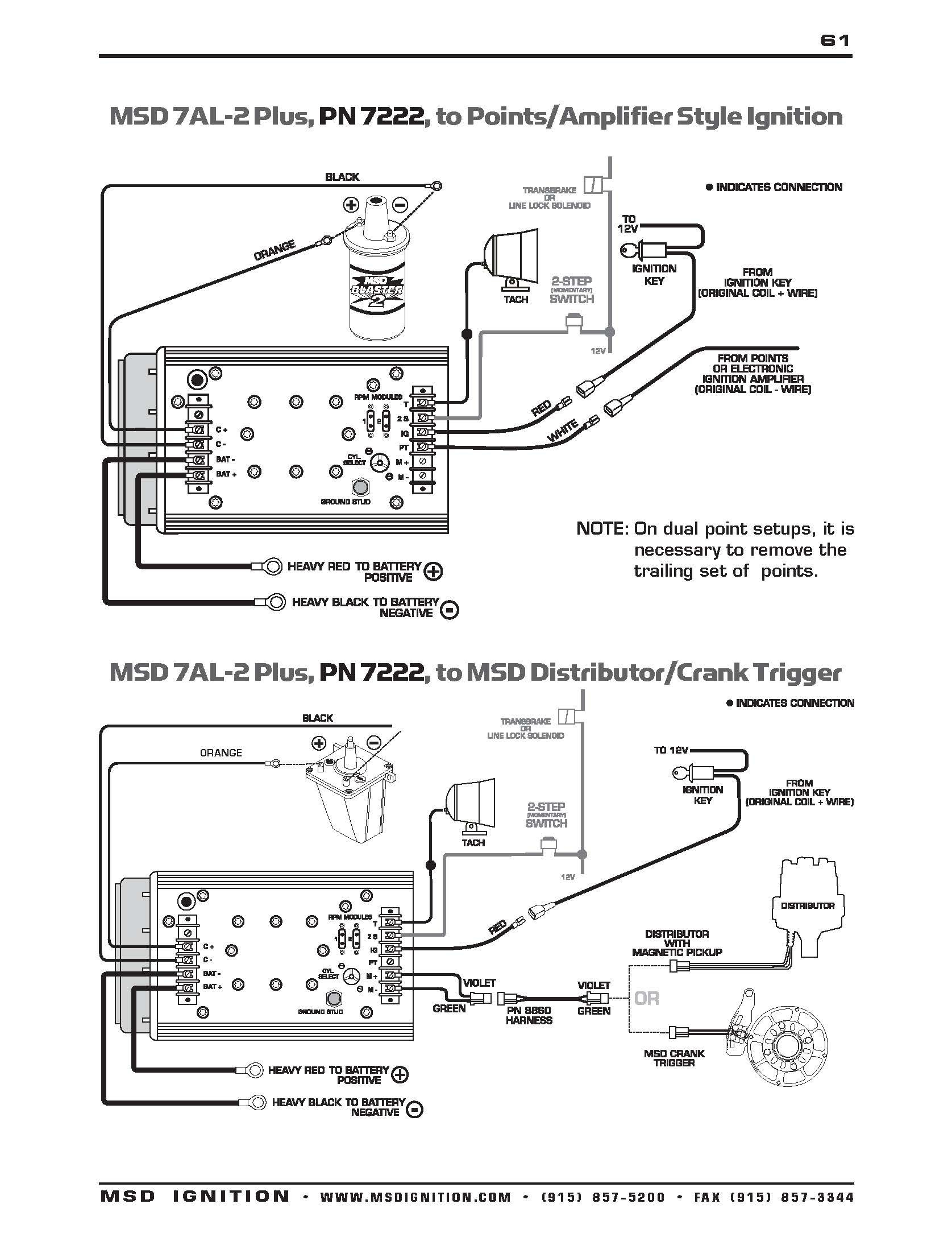 Amazing Msd 7al 2 Wiring Diagram s Ideas And