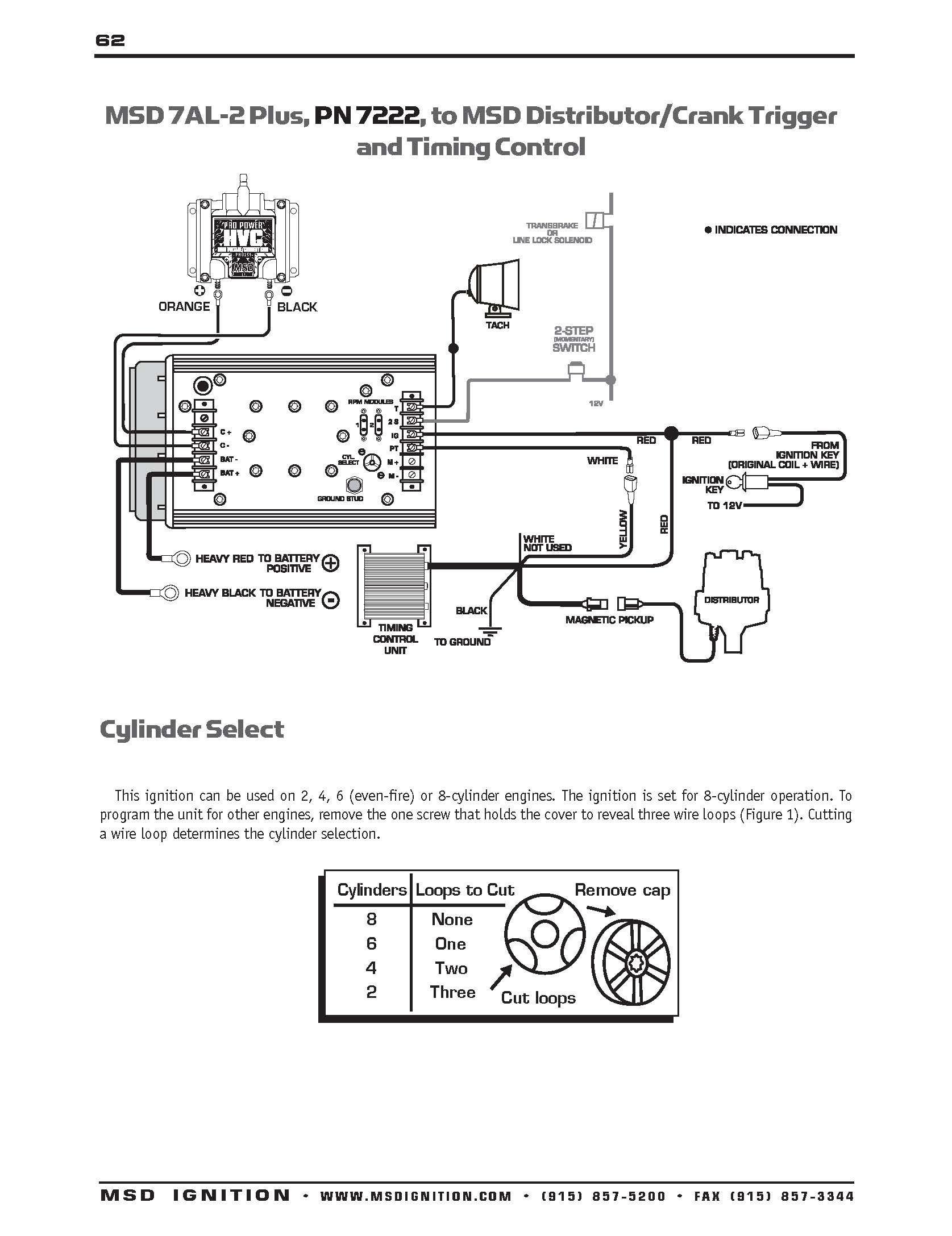 msd grid ignition wiring diagram simple electronic circuits u2022 rh wiringdiagramone today Installing MSD 7AL