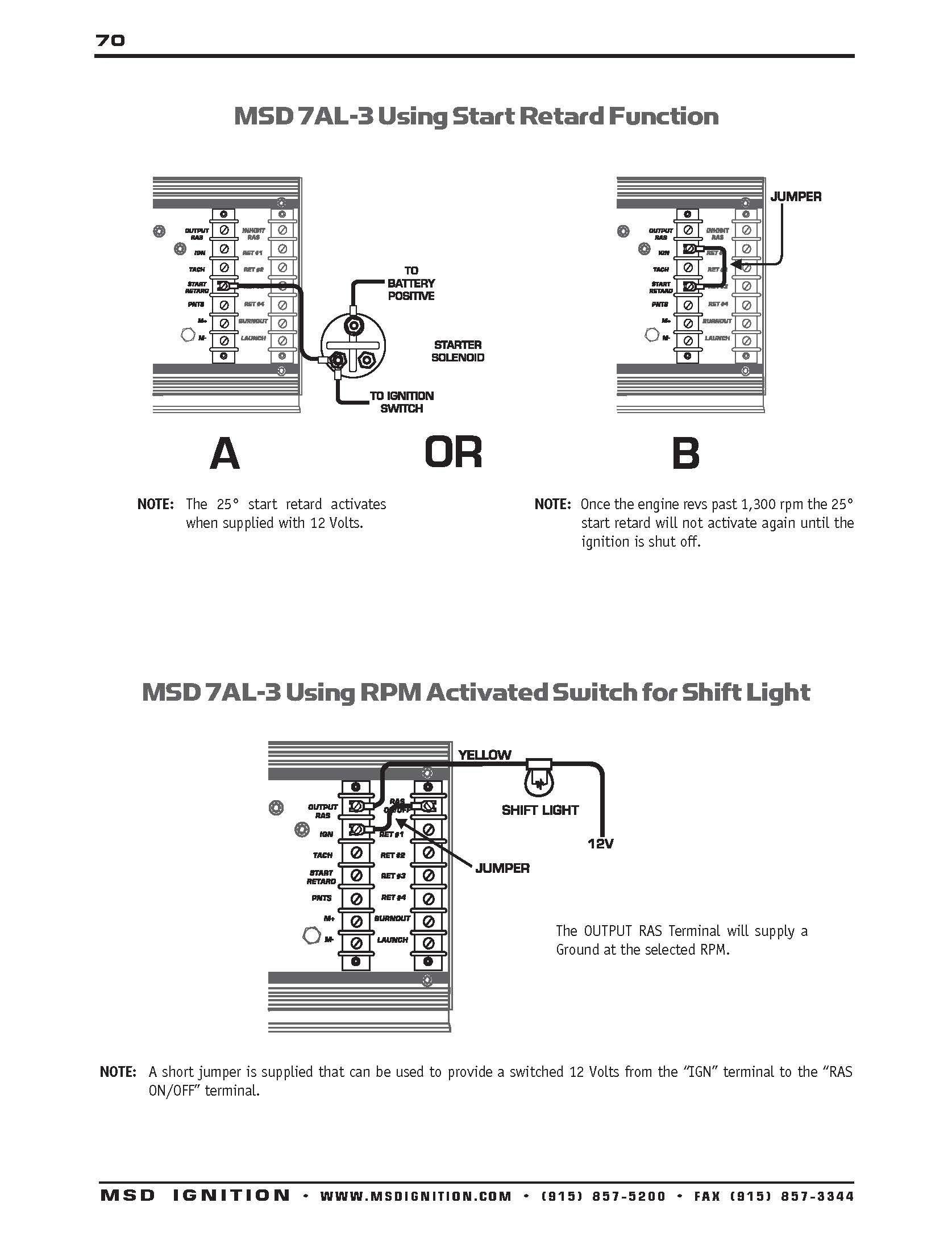 Inspirational Msd 7al3 Wiring Diagram | Wiring Diagram Image