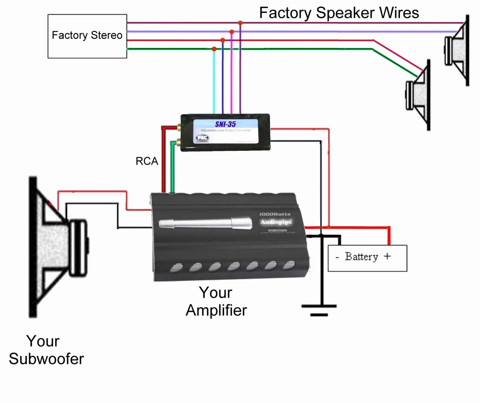 Sni 35 Adjustable Line Output Converter Wiring Diagram Pac Line Output Converter Wiring Diagram Inspirational