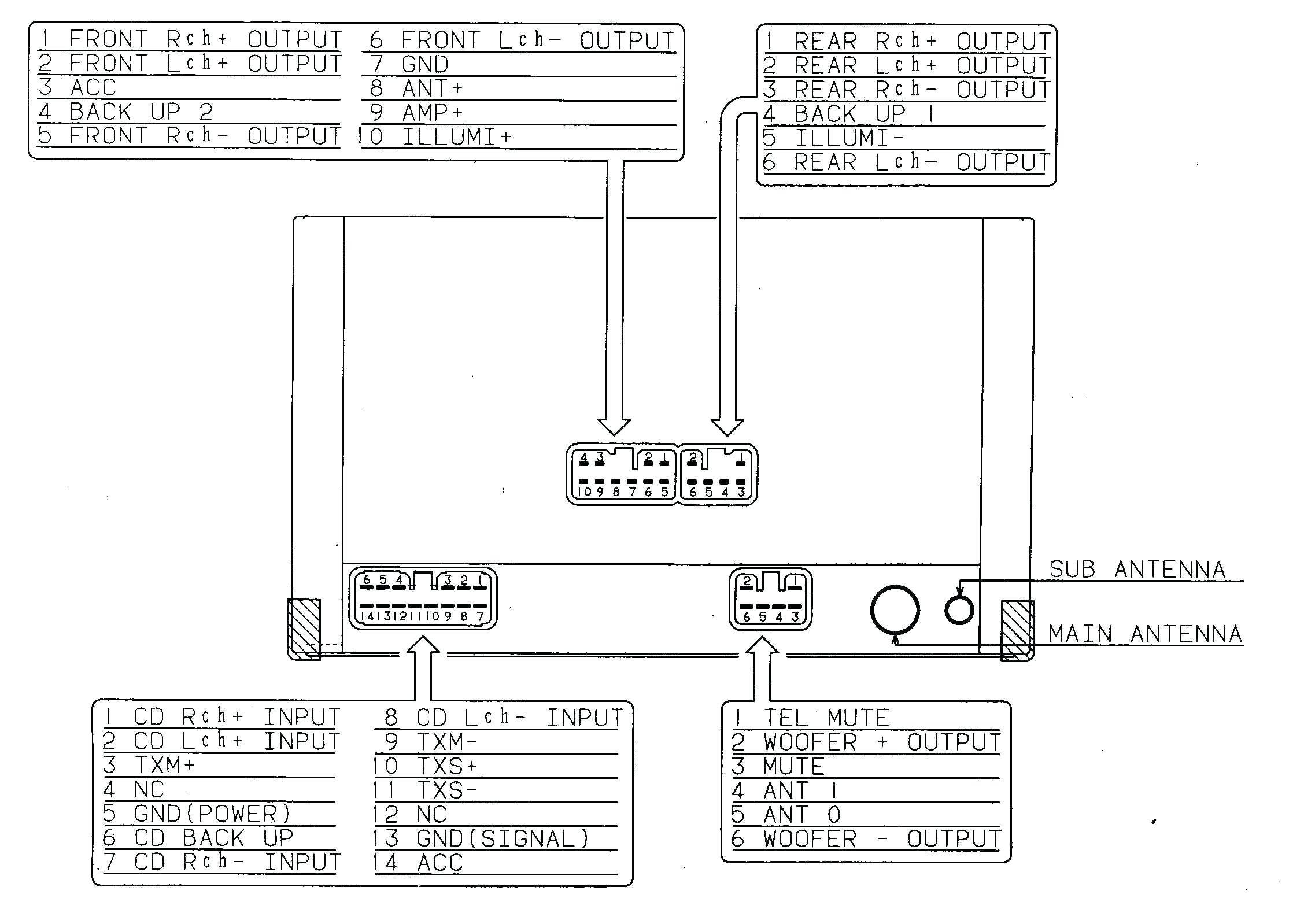 New Pioneer Avh P5700dvd Wiring Diagram Wiring Diagram Image Pioneer Avh  P5200bt Wiring Diagram