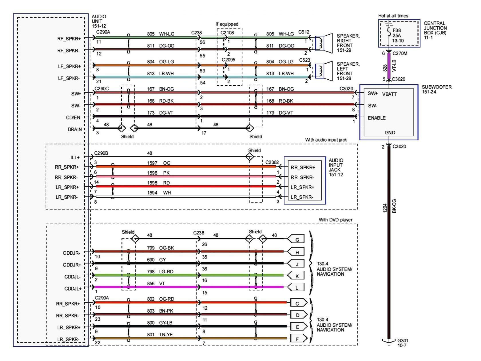 Pioneer Avh 271bt Installation Wiring Diagram