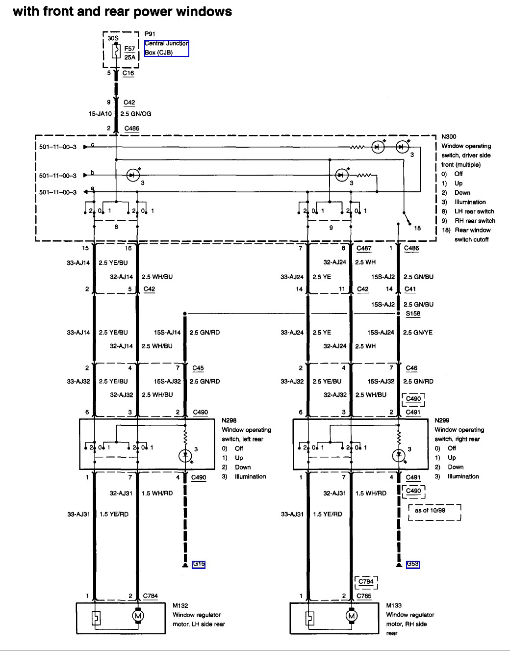 Ford F150 Power Window Switch Wiring Diagram Electrical Toyota 4runner Mirror Inspirational Image Specialty Windows