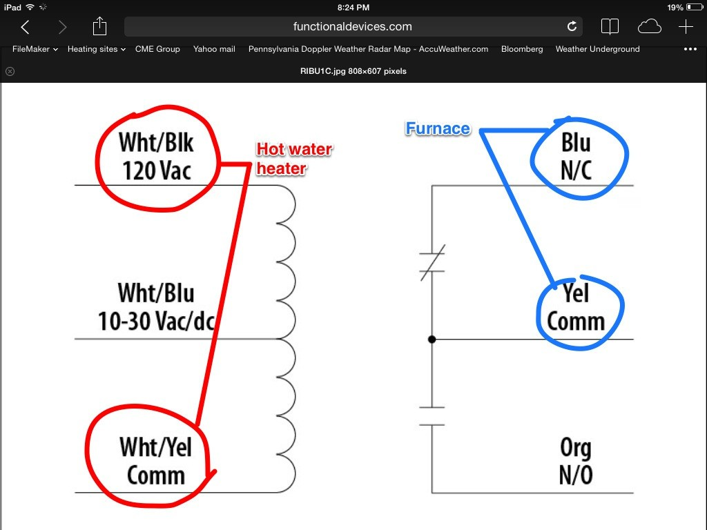 Ribu1c Relay Wiring Diagram Schematic Diagrams Dayton Solid State Enthusiast U2022