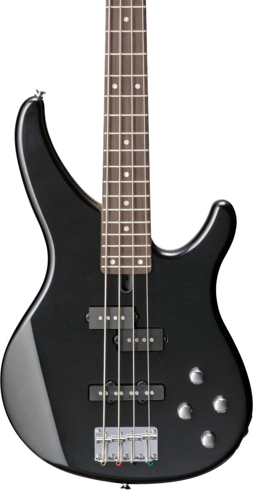 Picture 1 of 9. Yamaha Trbx204 Active Electric Bass Guitar Galaxy Black from rogue ...
