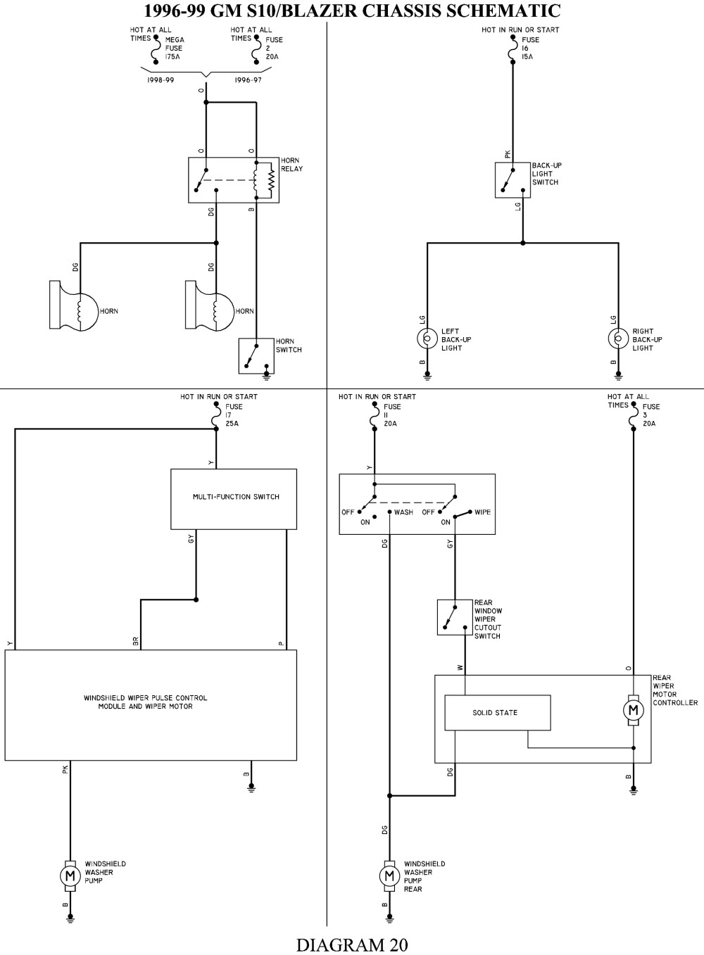 96 S10 Engine Diagram Indepth Wiring Diagrams 2000 V8 Conversion Harness Library Of U2022 Rh Sv Ti Com Pickup 1996 Chevy