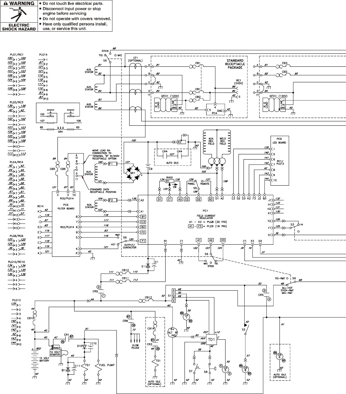Wiring Diagram Lincoln Stick Welder And Schematics Tig Welding Machine Idealarc 300 Explained Diagrams Rh Dmdelectro Co Arc Part Identification