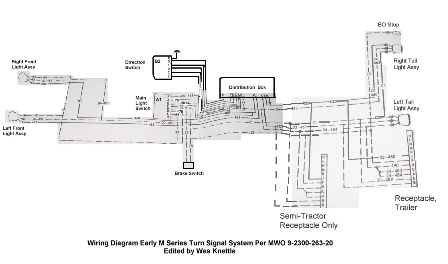 Signal Stat 900 Sigflare Wiring Diagram Schematics Golf Cart Turn Switch Trusted Diagrams
