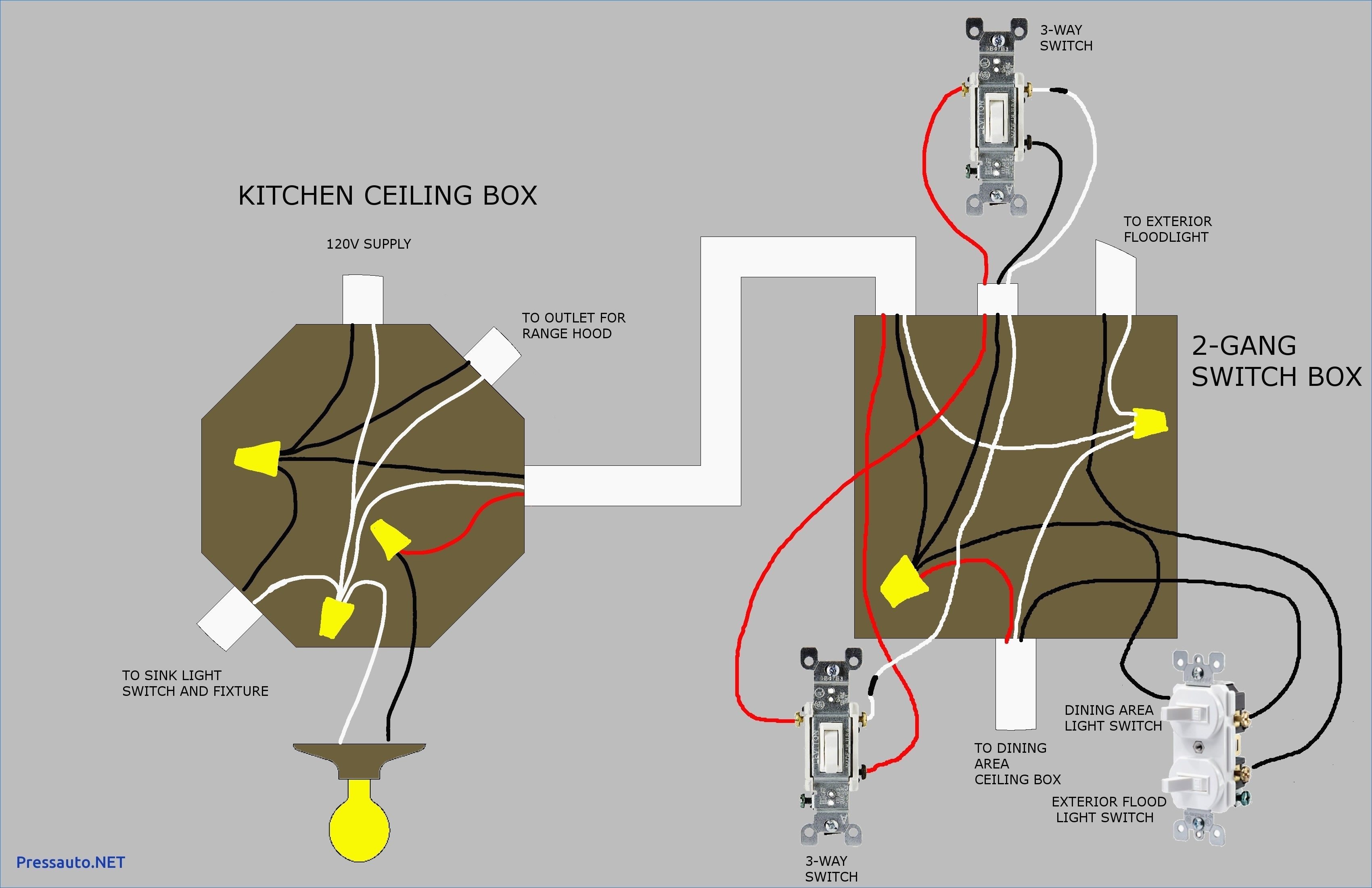 Wiring Diagram for A Single Light Switch Valid Awesome Single Pole Light  Switch Wiring Diagram Wiring