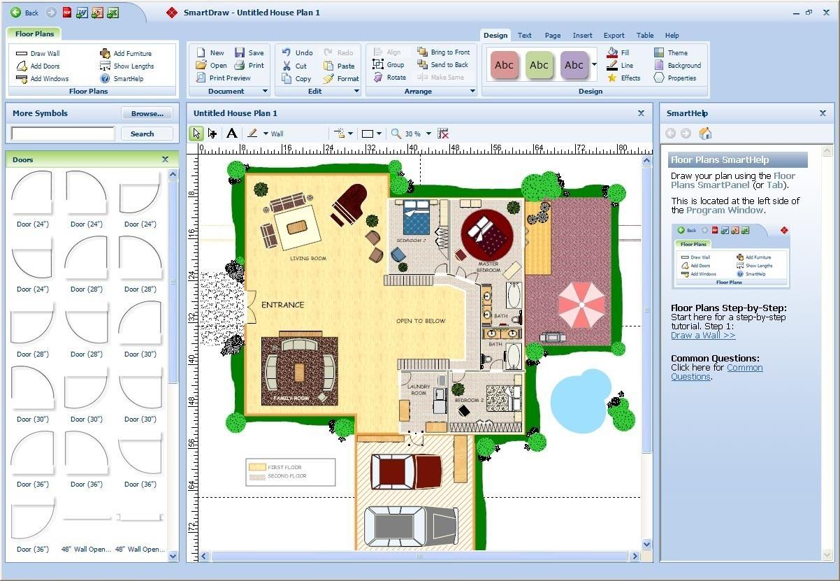 House Plans software New Home Floor Plan Designer Simple Floor Plans Best Design Plan 0d