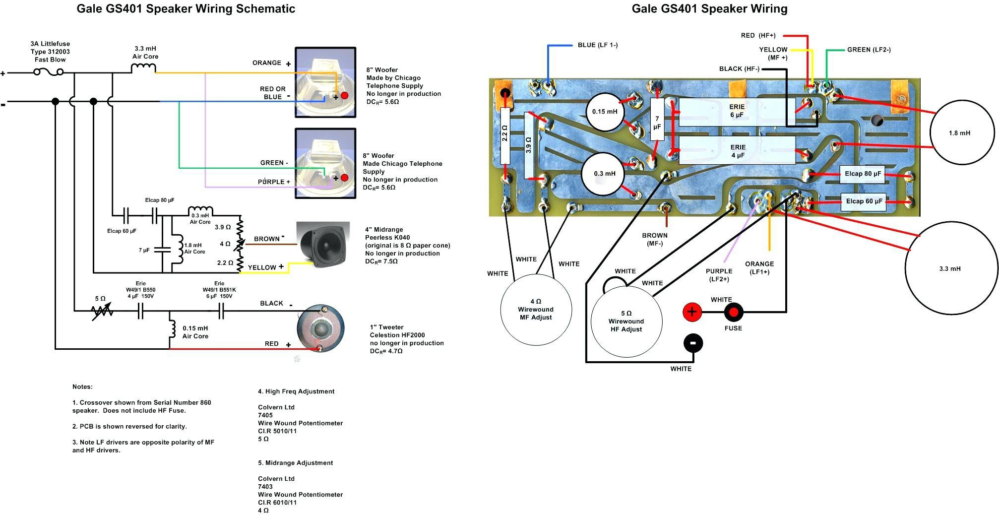 Speaker Crossover Wiring Diagram Beautiful Speaker Crossover Wiring Diagram Wiring