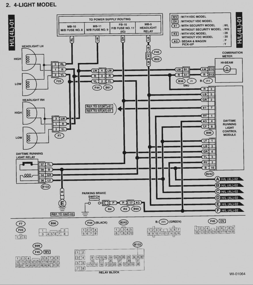 subaru radio wiring diagram