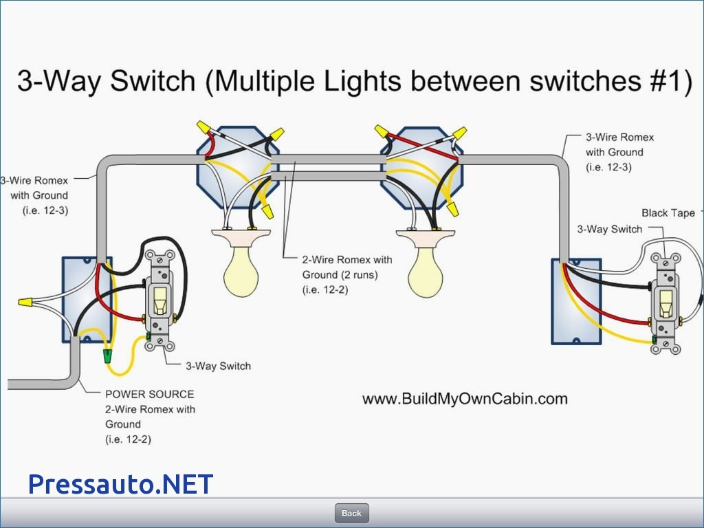 How To Wire Led Light Three Auto Switch Diagram Schematic Diagrams Wiring A 3 Way Multiple Lights Center U2022 Circuit