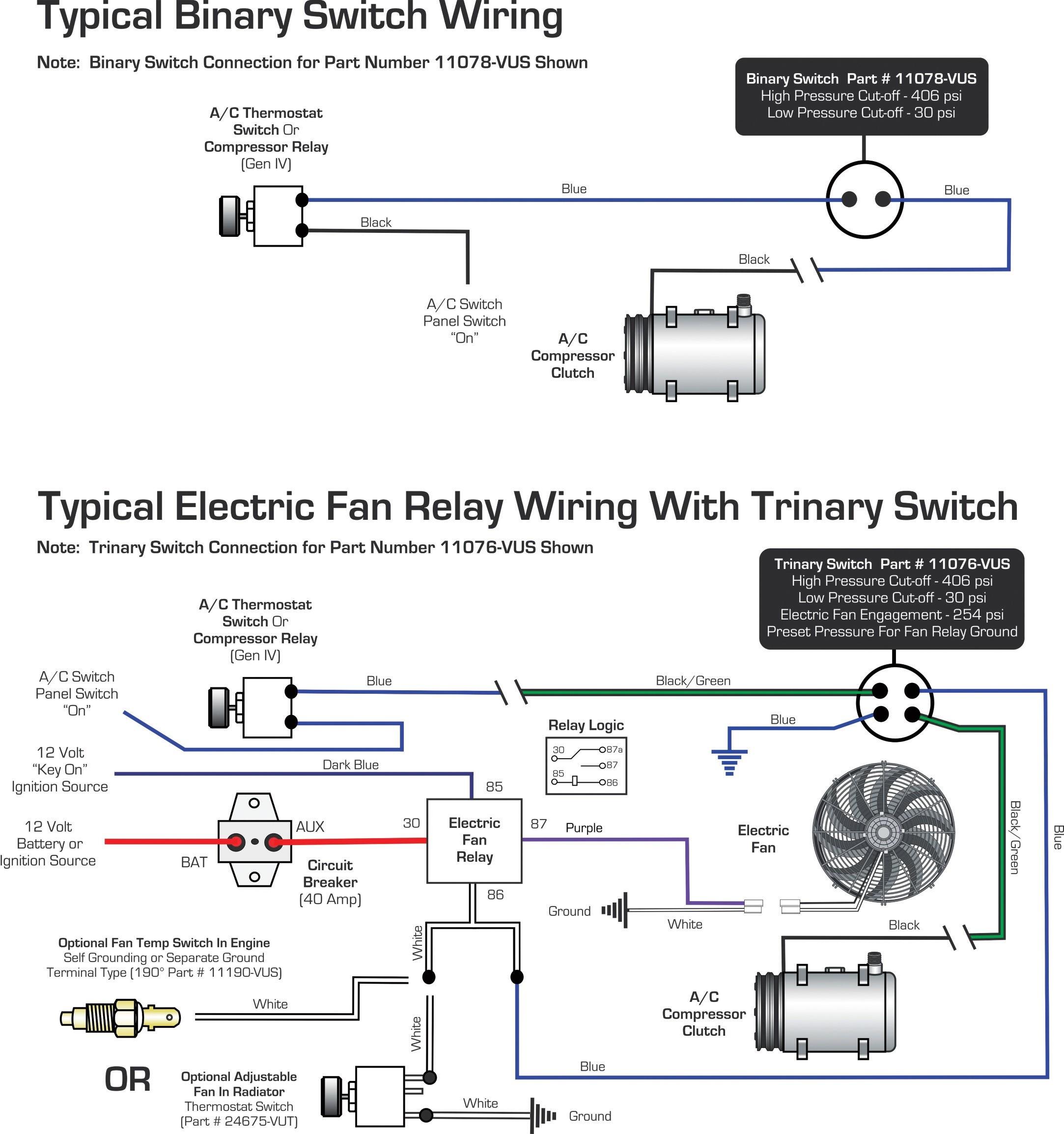 Trinary Switch Wiring Diagram