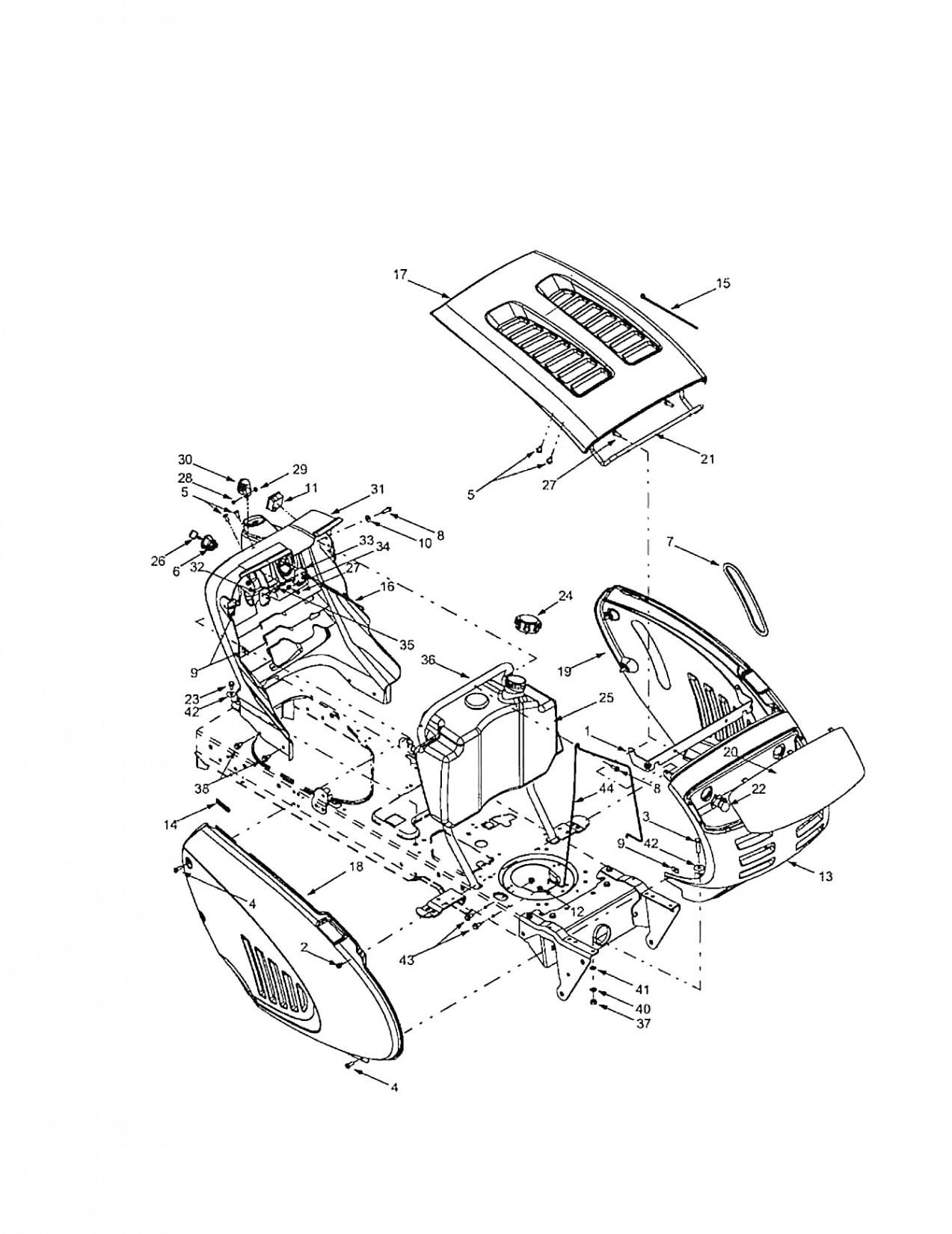on tb2246 troy bilt lawn tractor wiring diagram