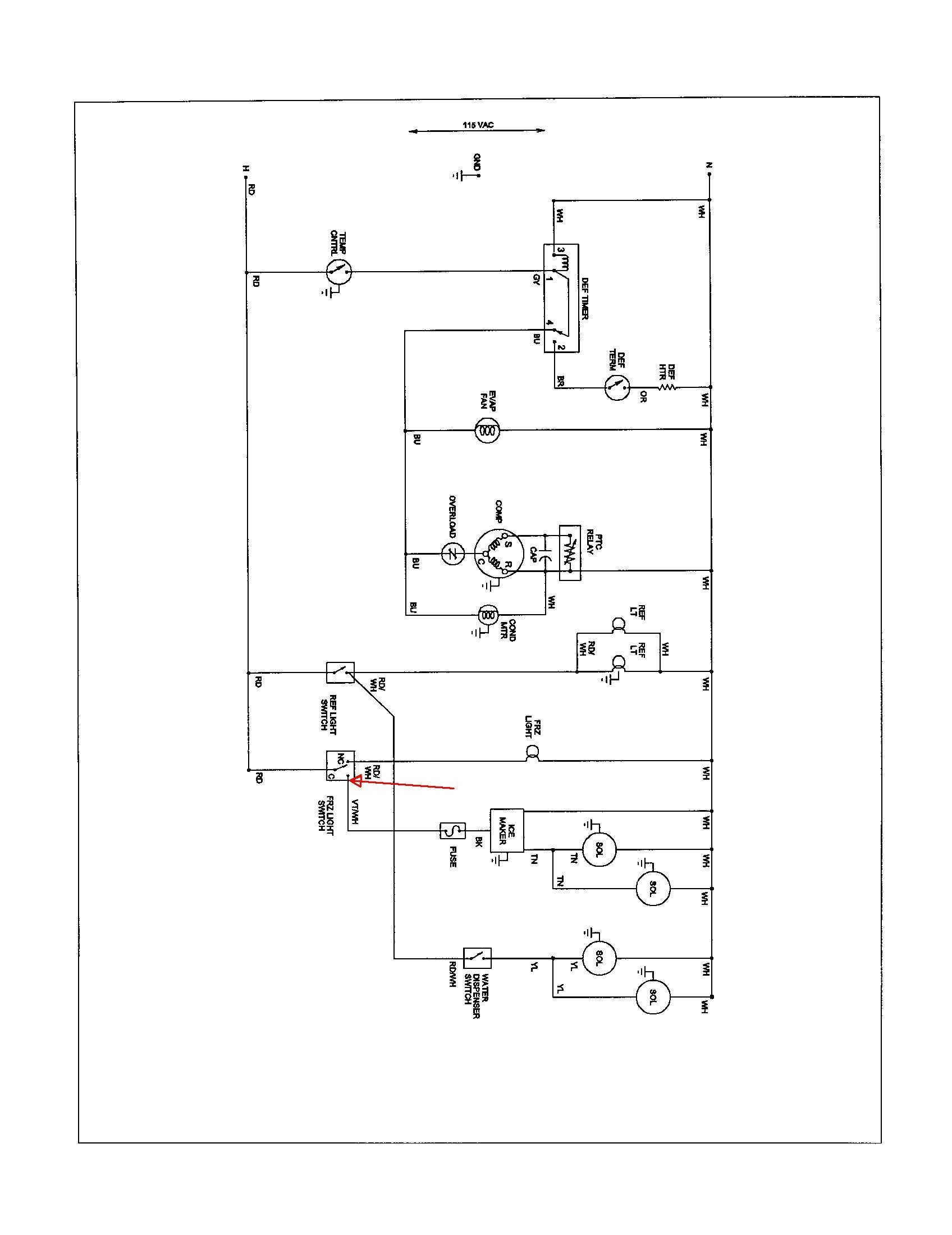 Walk In Cooler Wiring Diagram from mainetreasurechest.com