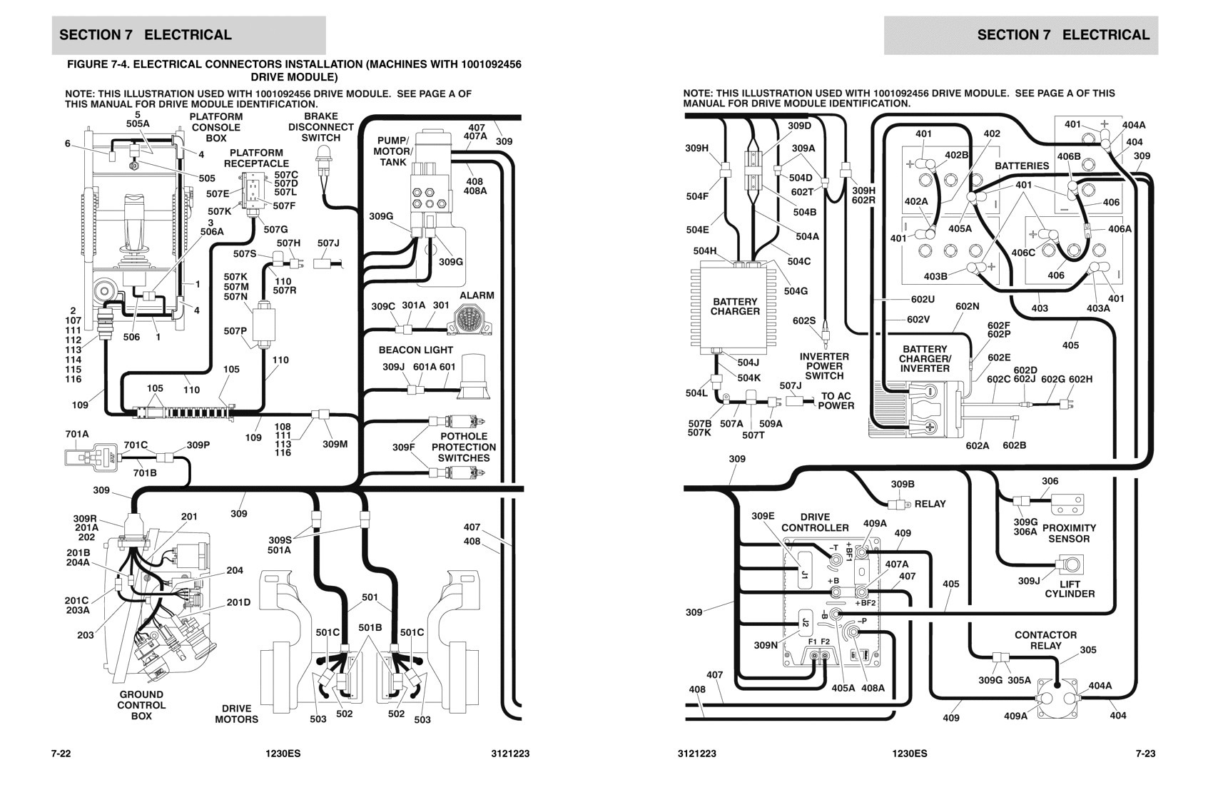 upright lift wiring diagram