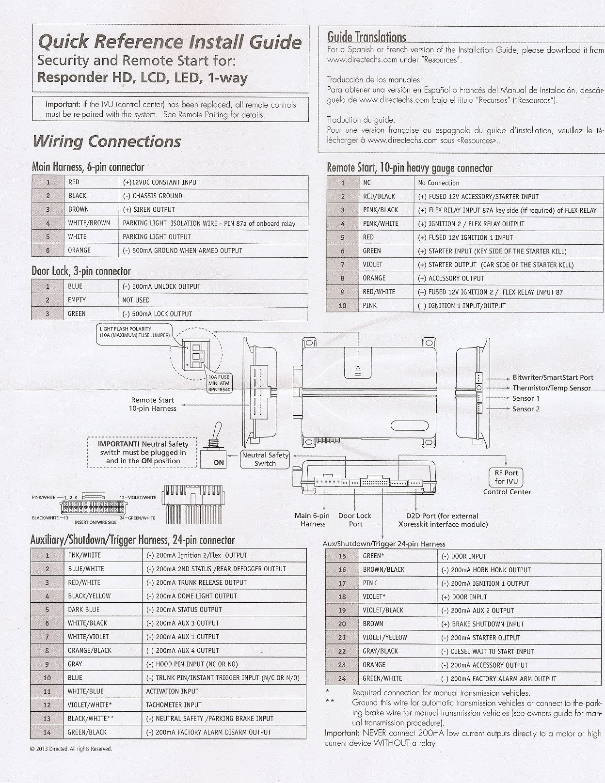 Viper 4806V Wiring Diagram from mainetreasurechest.com
