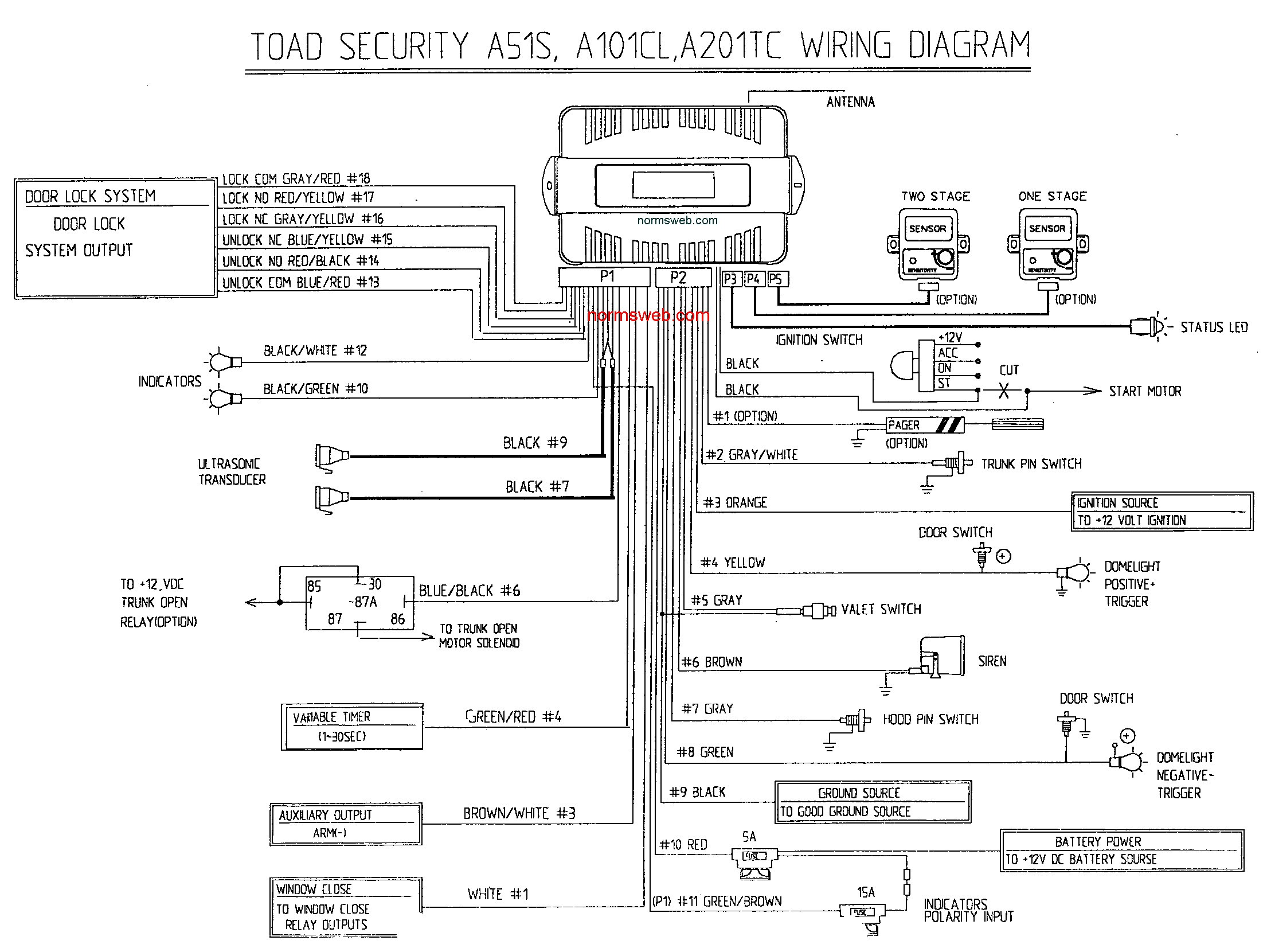 Viper Alarm Wiring Diagram Wiring Diagram
