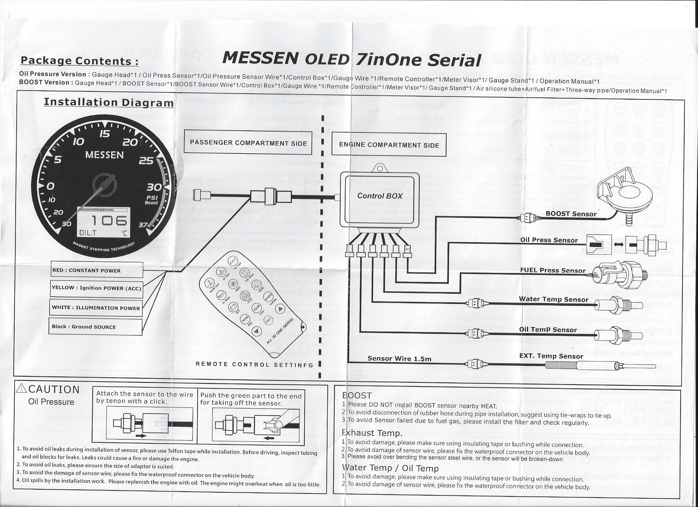 Dragon Gauge Wiring Diagram 2012 Infiniti G37 Fog Light Tach Water Temp Electrical Diagrams On