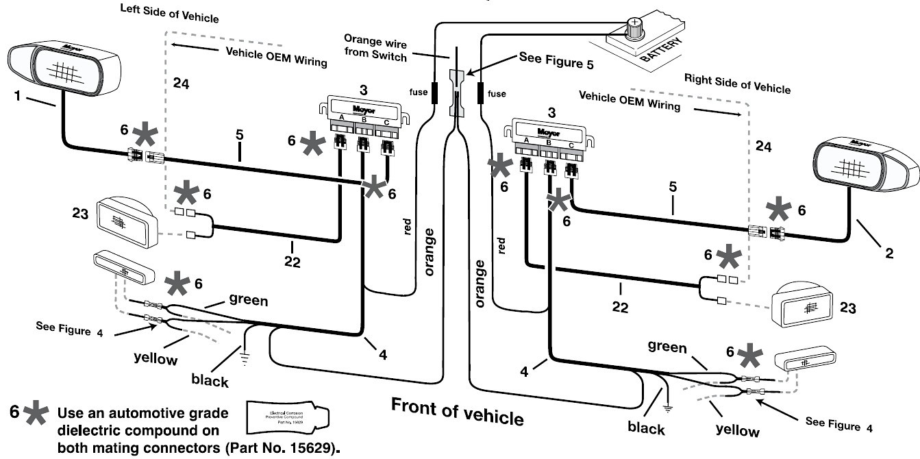 Western Snowplow Wiring Diagram from mainetreasurechest.com
