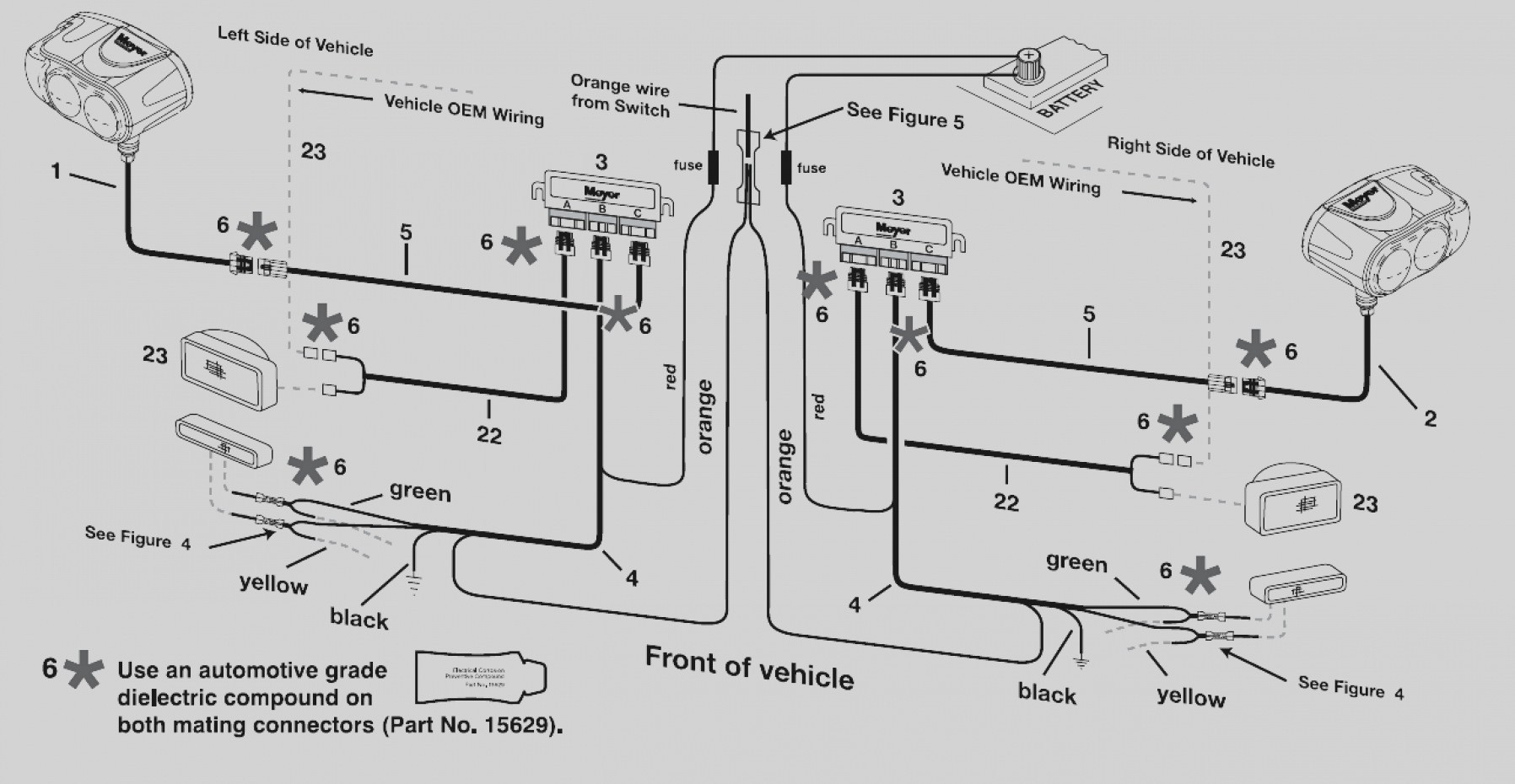 western snow plow solenoid wiring diagram
