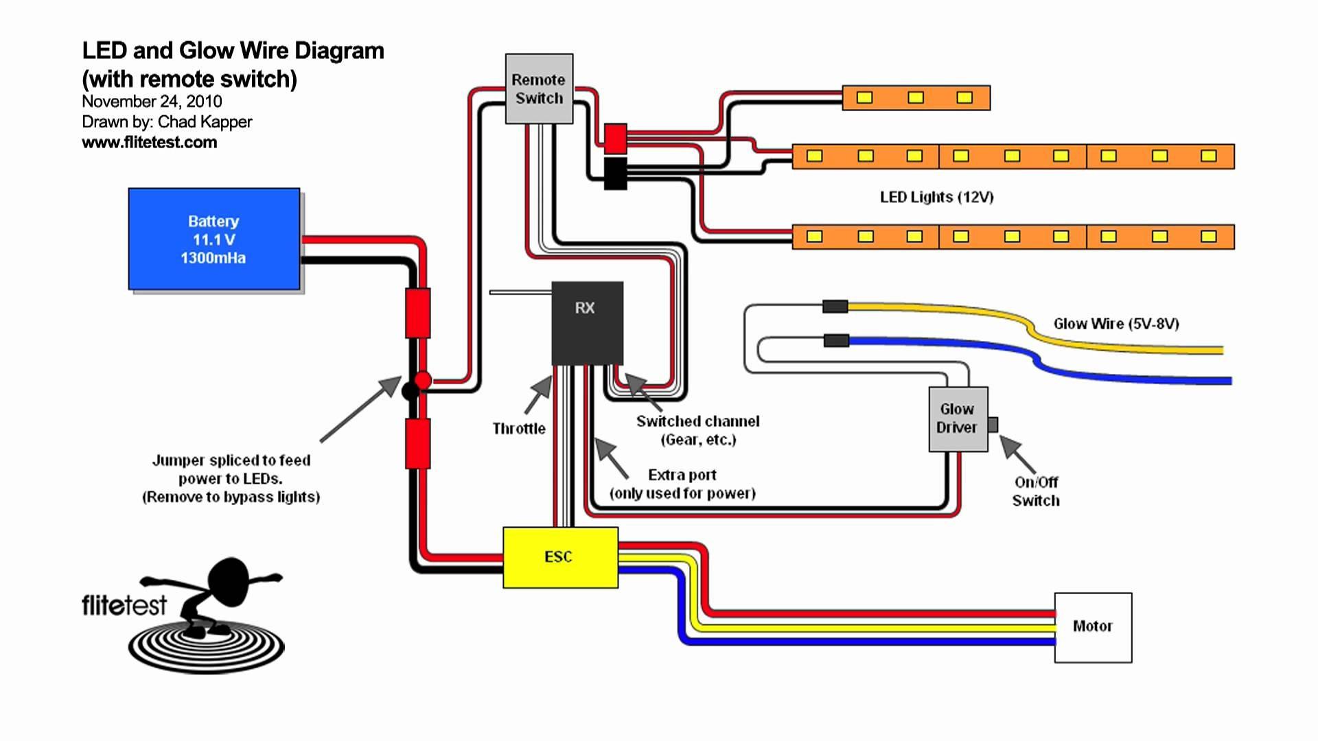 rc car wiring diagram data wiring diagrams u2022 rh naopak co RC LED Light Wiring Diagram DIY RC Car